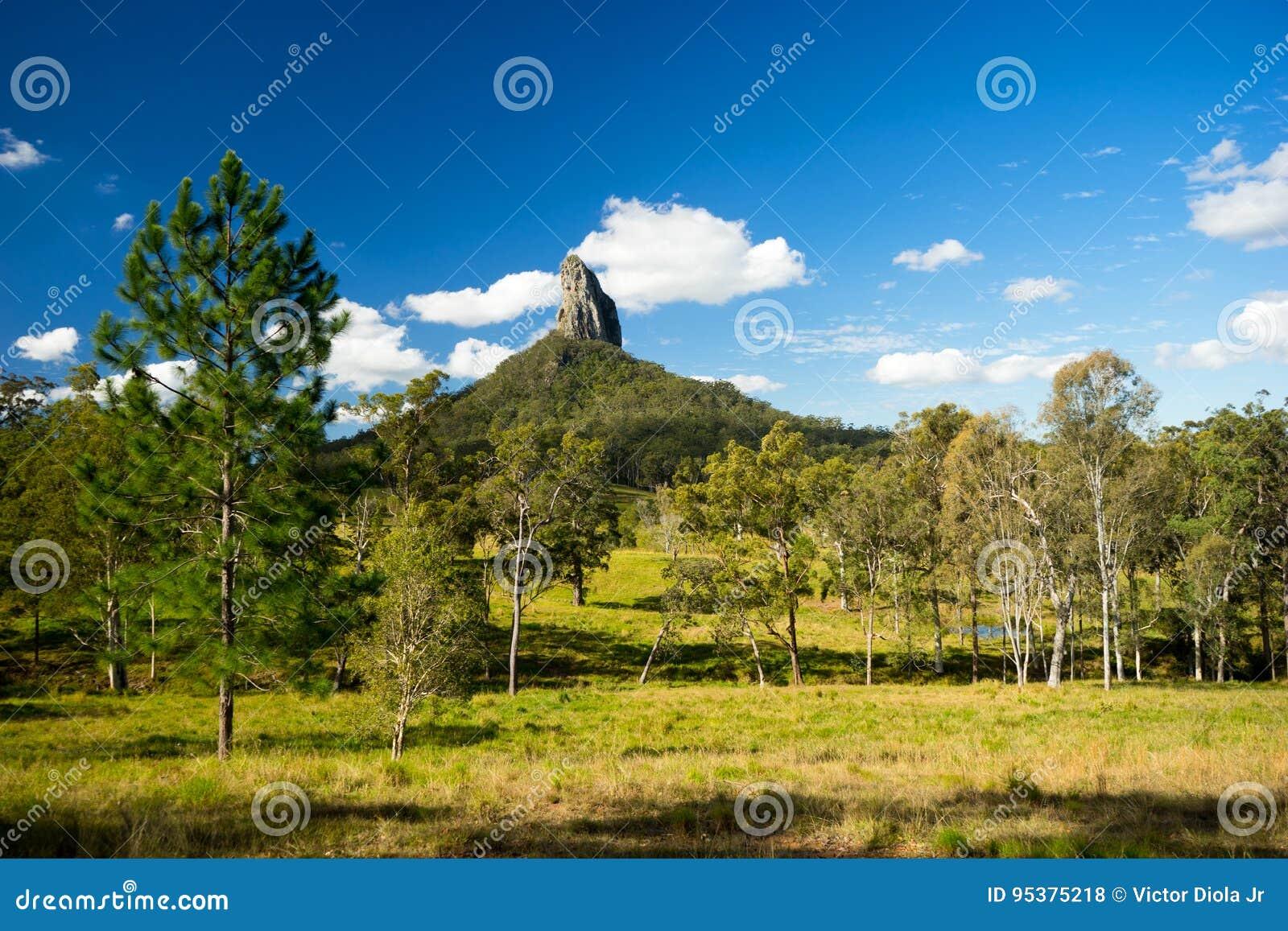Mt Coonowrin in Queensland Australia