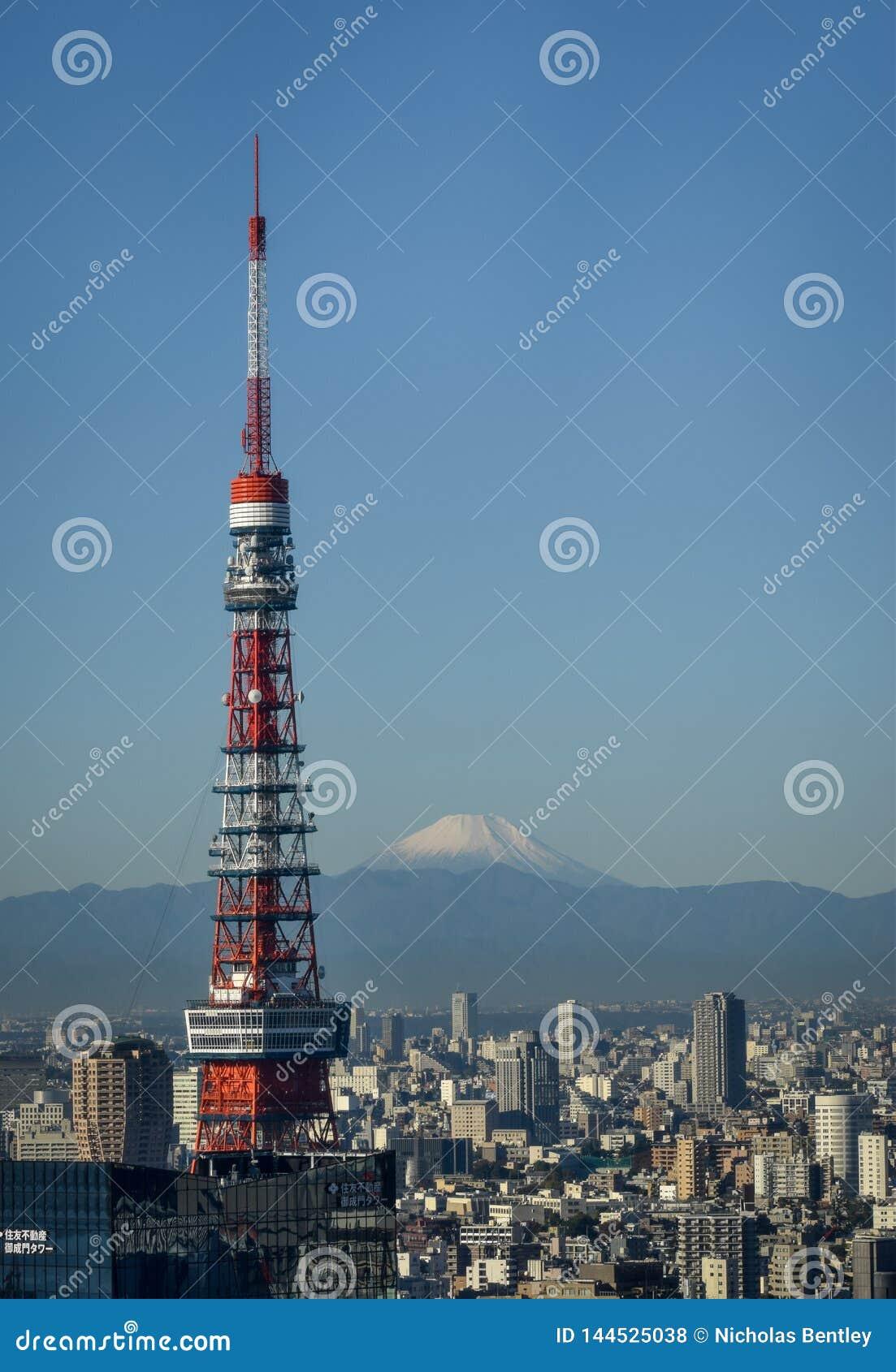 Mt Fuji från Tokyo