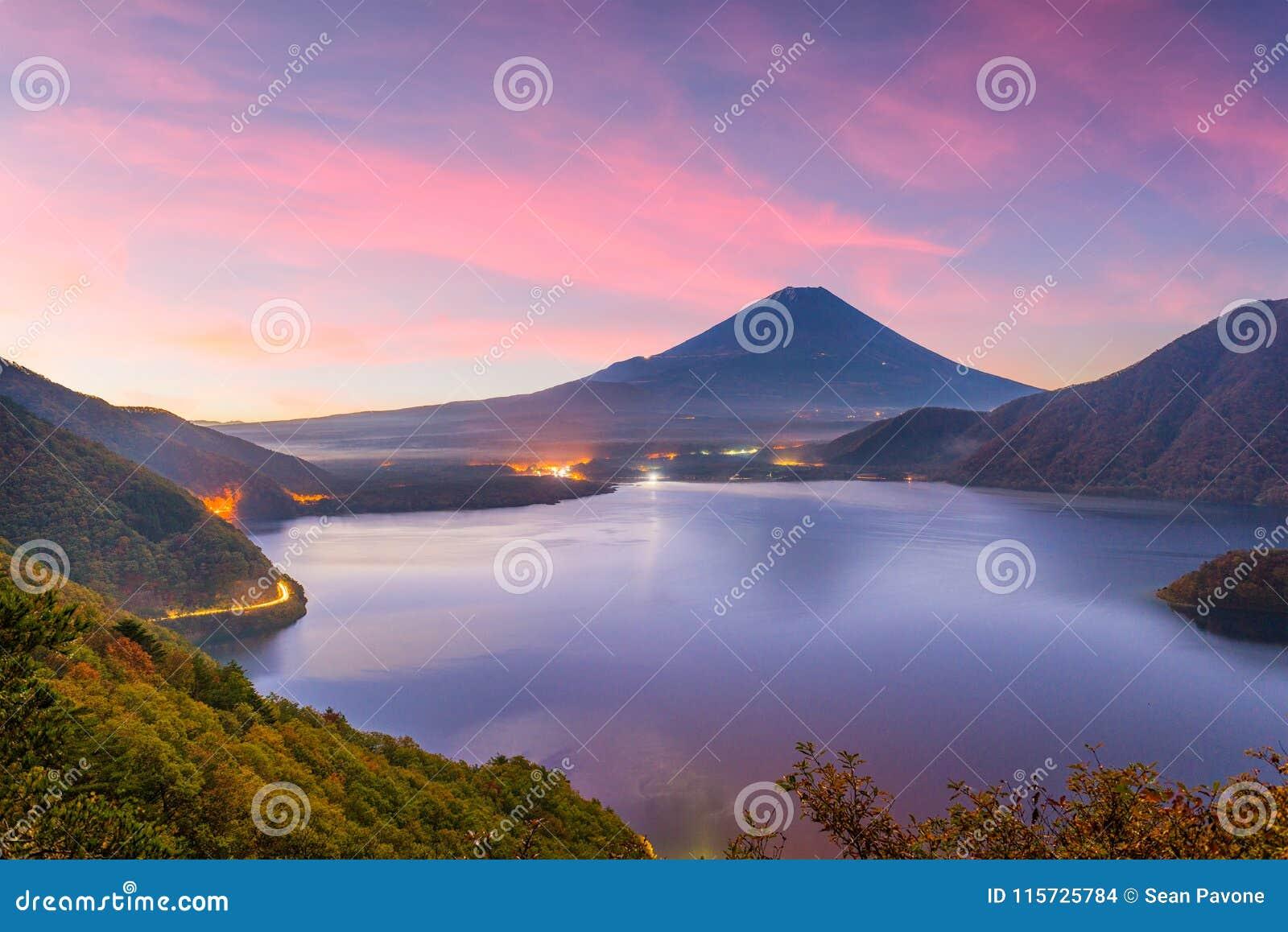 Mt Fuji, Japonia jesień