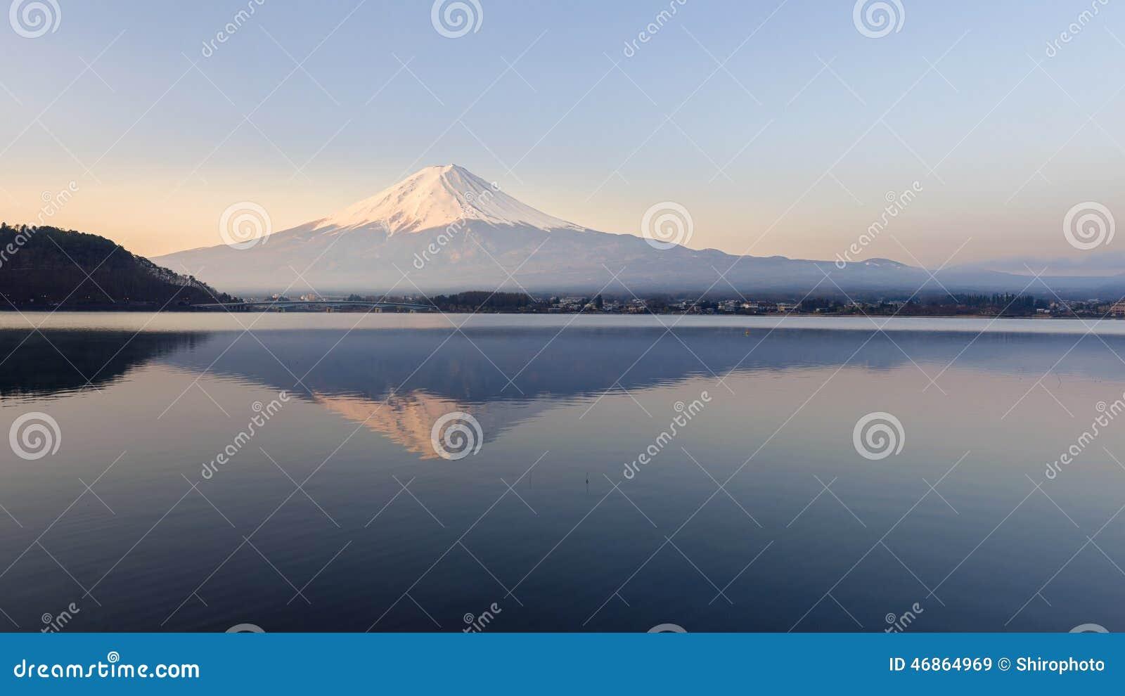 Mt Fuji no amanhecer