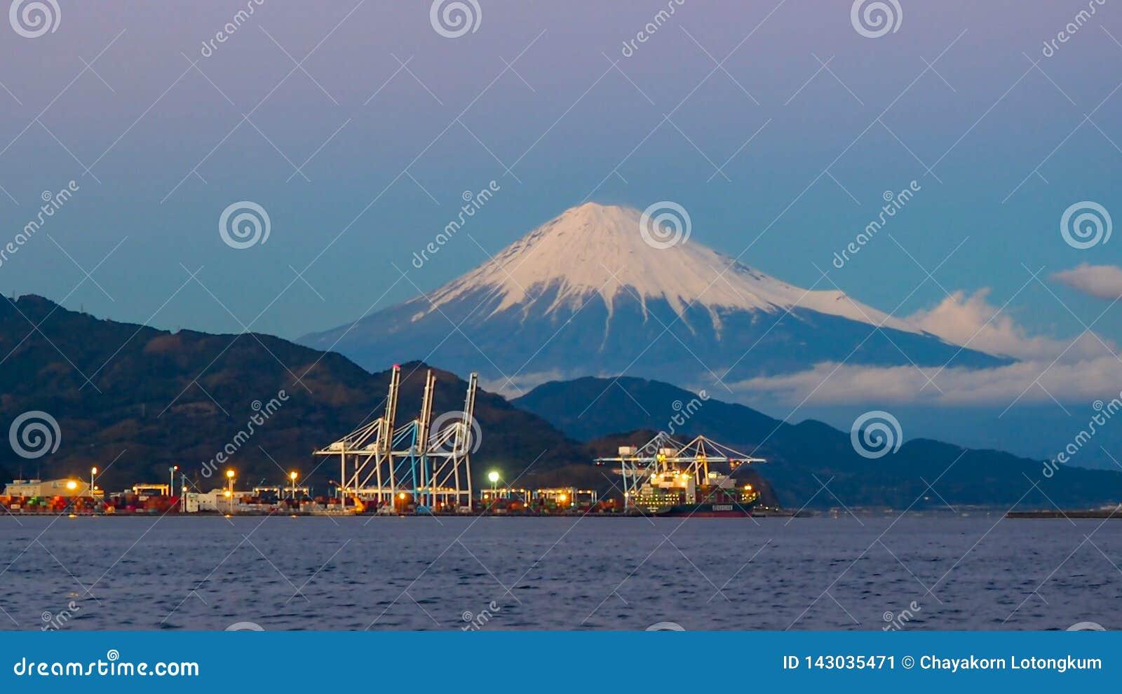 Mt. Fuji from Shizuoka, Japan