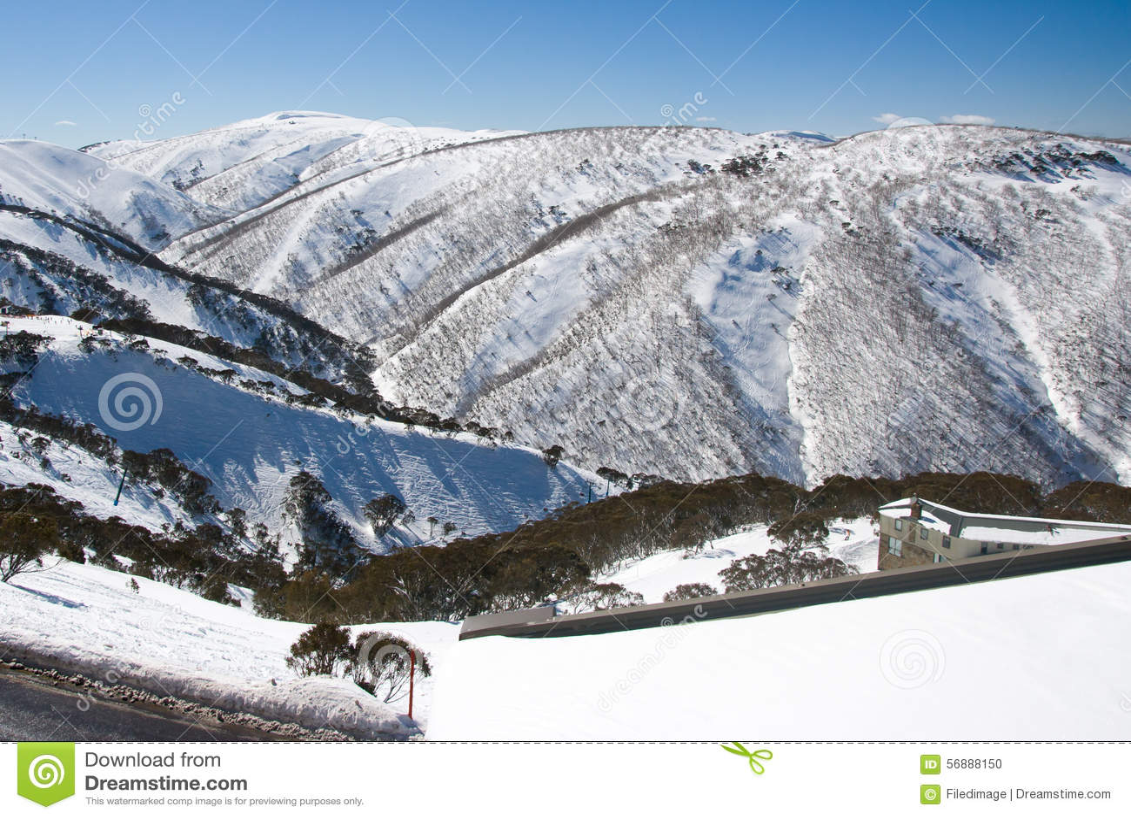 Mt Hotham nell inverno