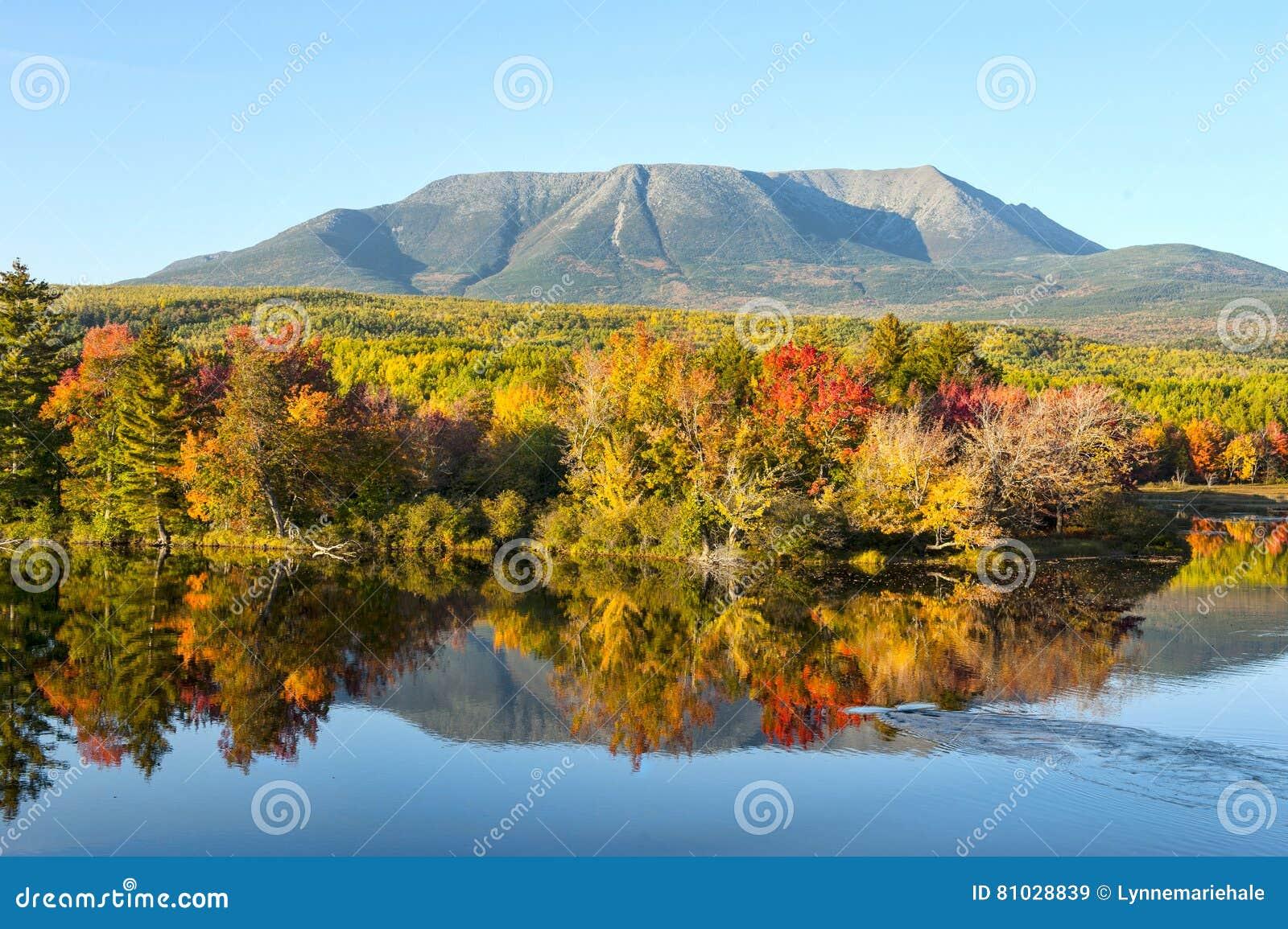 MT Katahdin in Staat van Maine