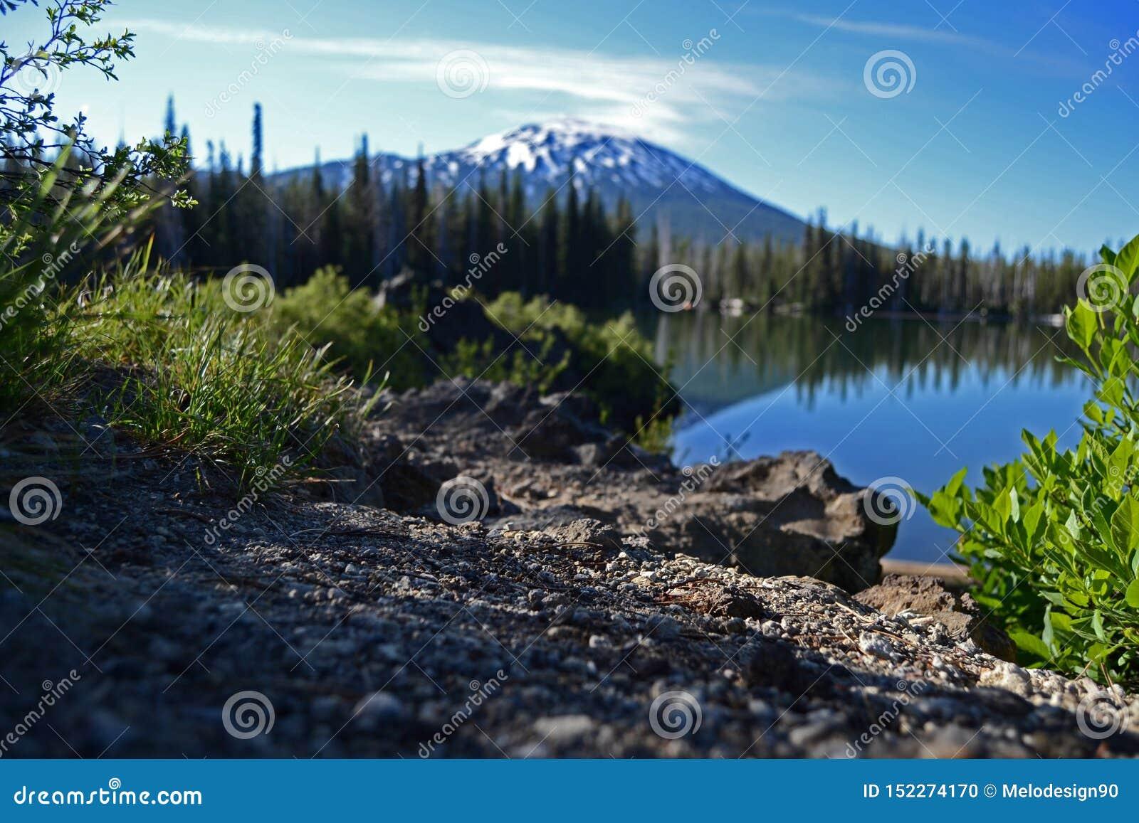 Mt Kawaler Od jeziora