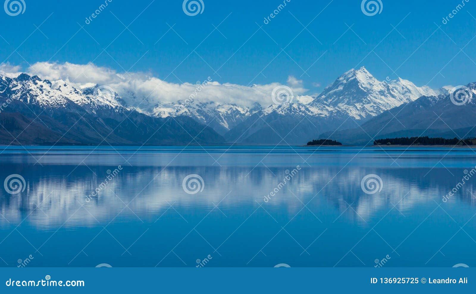 Mt Laga mat/Aoraki är det nya Zealand's mest högväxta berget
