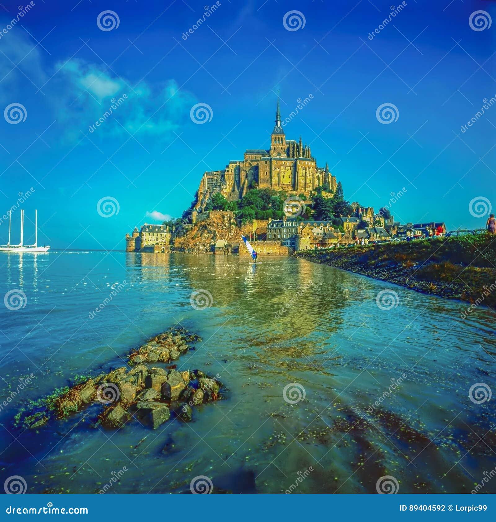 Mt Saint Michel, França