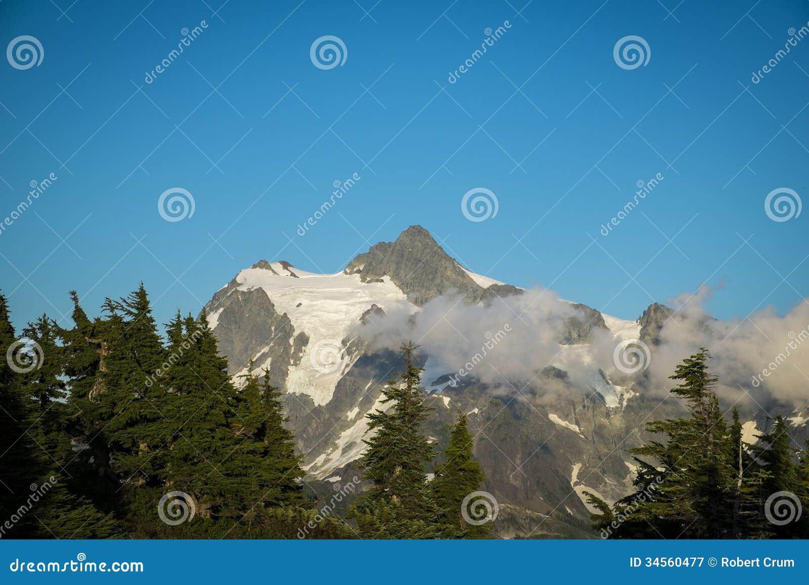 Mt Shuksan, cascades de l état de Washington
