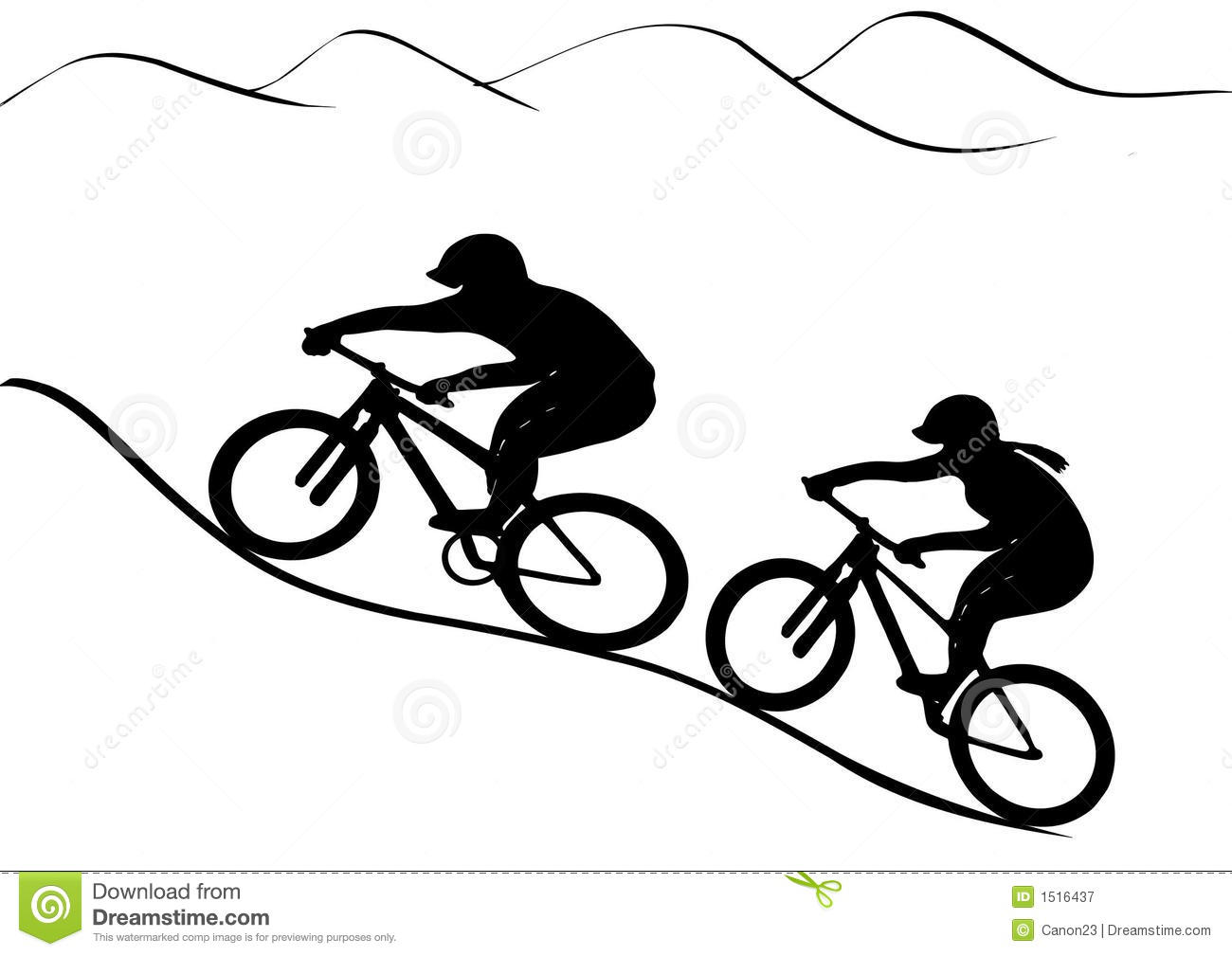 The gallery for mountain bike tire clipart for Bike tire art