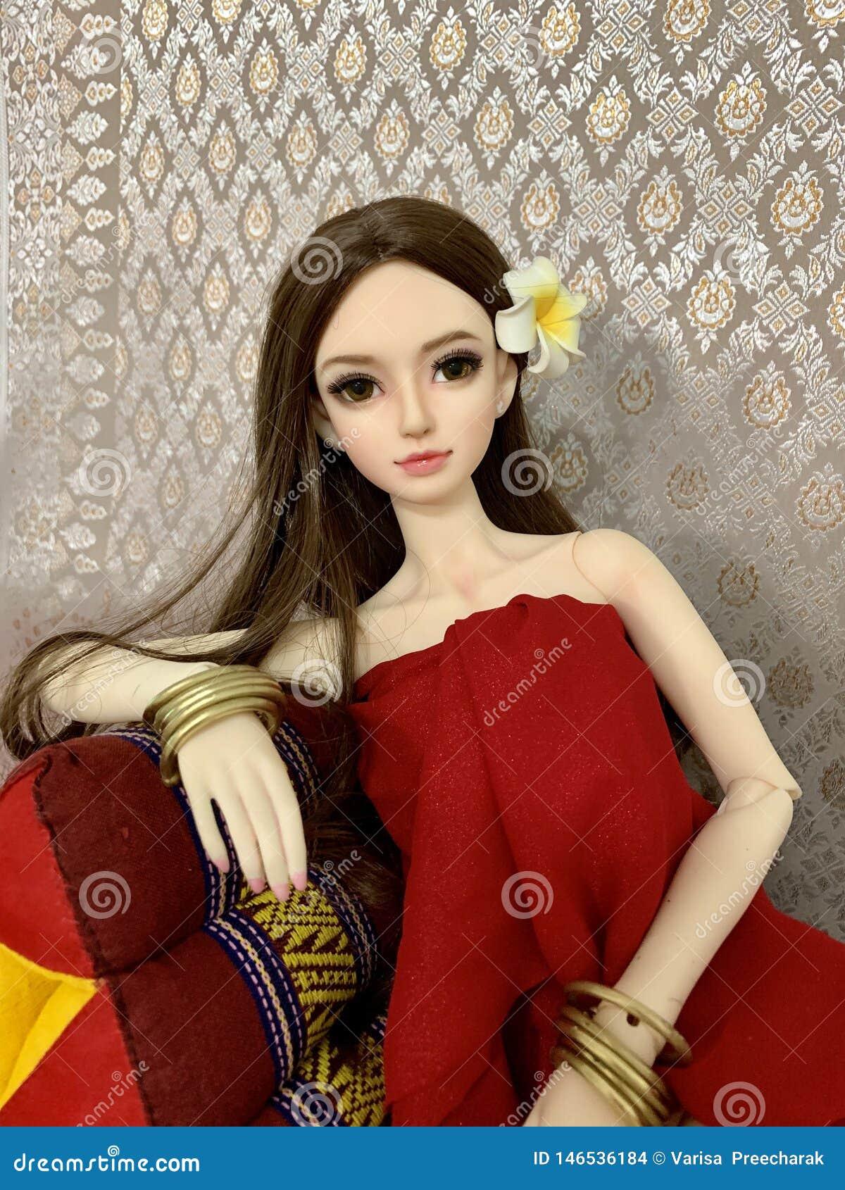 Muñeca como mujer real, muñeca de la junta de rótula