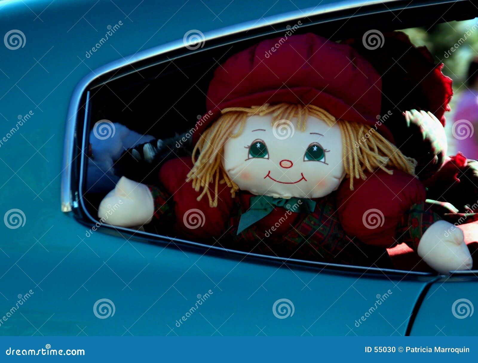Muñeca del asiento trasero