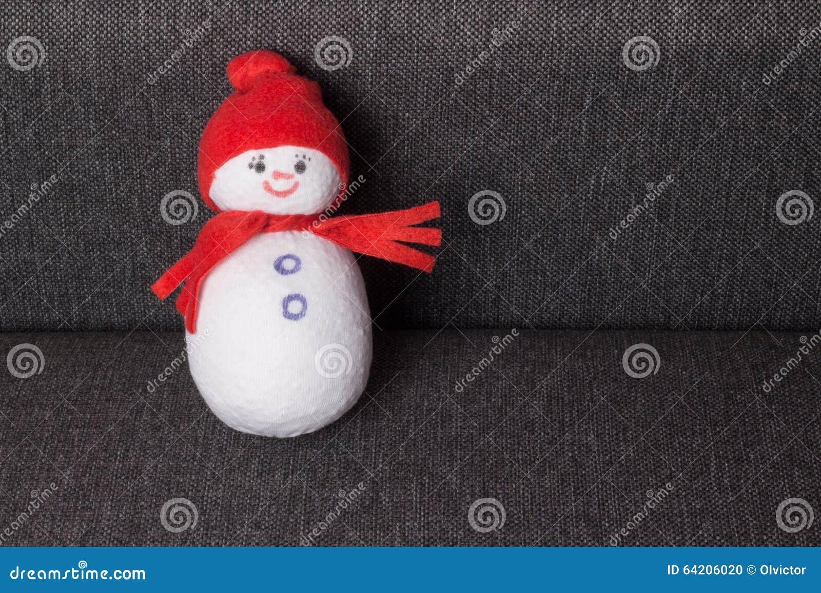 Muñeco de nieve juguete suave