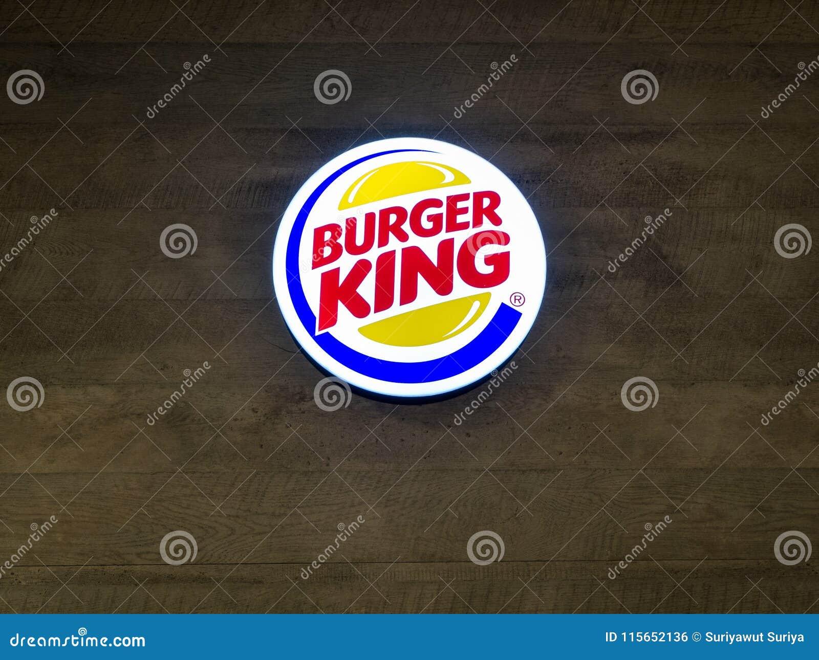 Muang, Nakhonratchasima/Таиланд - 27-ое апреля 2018: Burger King