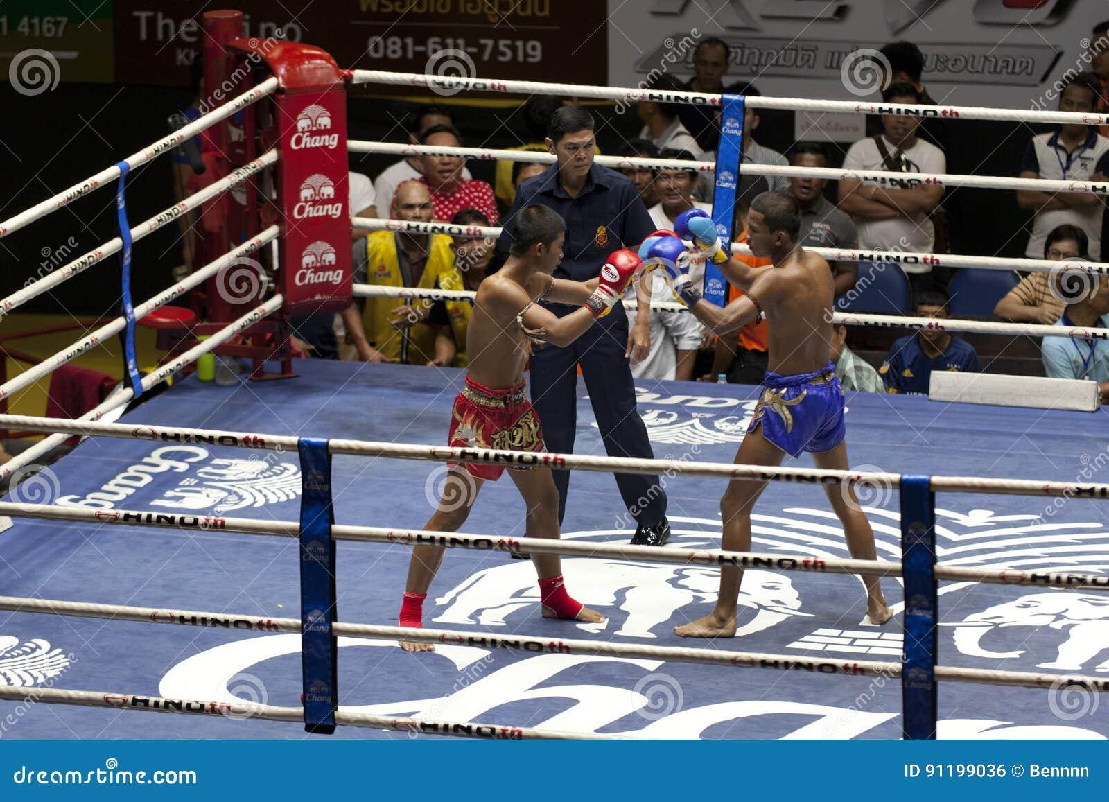 muay thai boxing in thailand