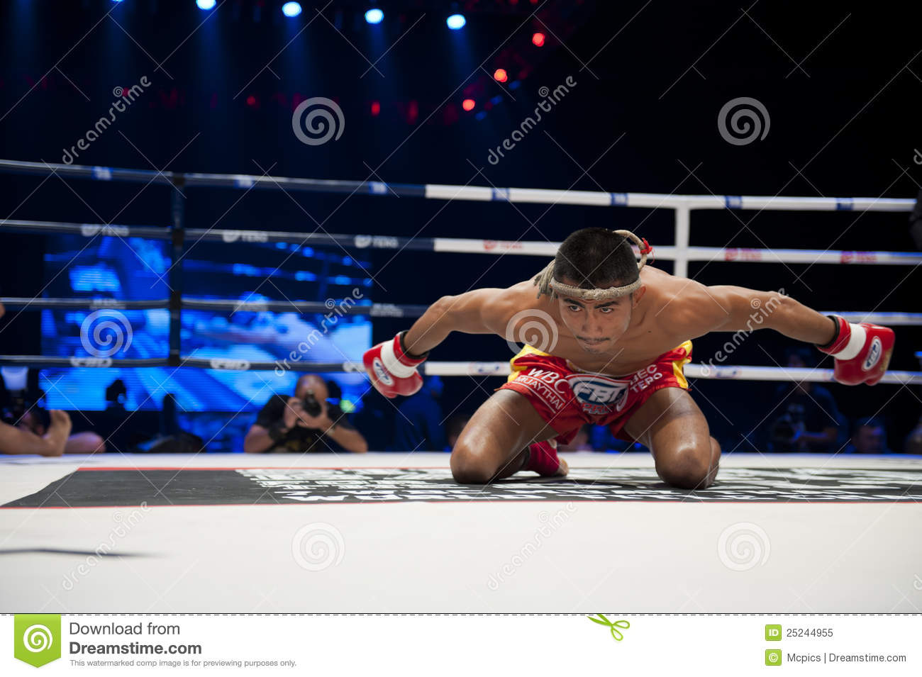 how to prepare for a muay thai fight