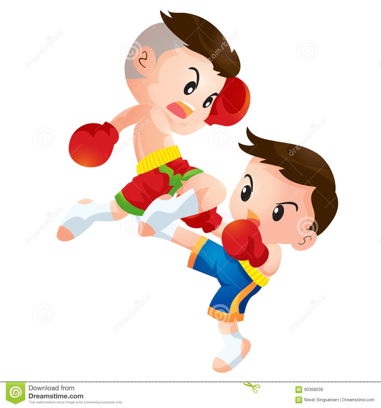 muaythai stock vector image 60368038 boxing clipart dragon boxing clip art free images