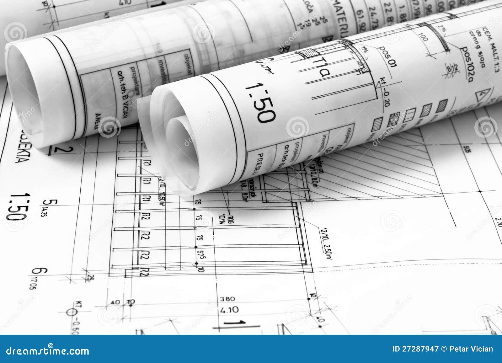 Mucchio delle illustrazioni di disegno e di progetto dell for Versare disegni e progetti