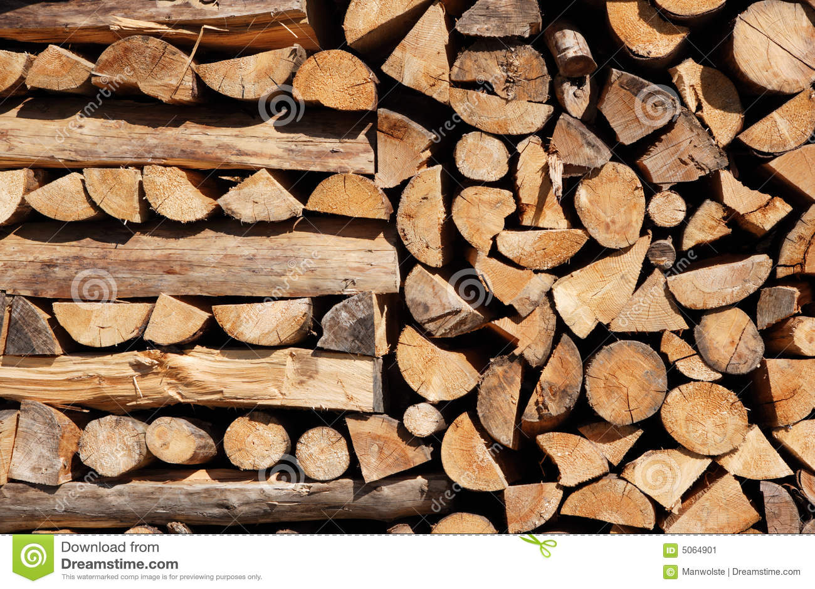 Mucchio di legno
