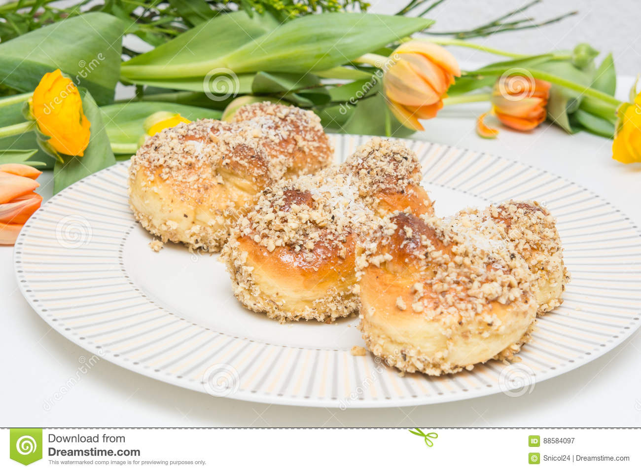 Mucenici: Traditional Romanian Cookies Stock Image - Image ...