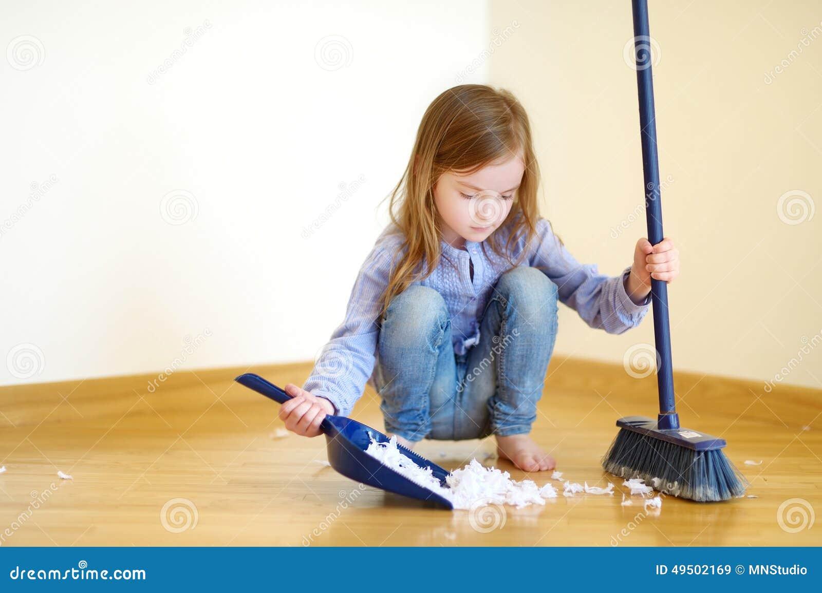 limpiar escoltas pequeña mama