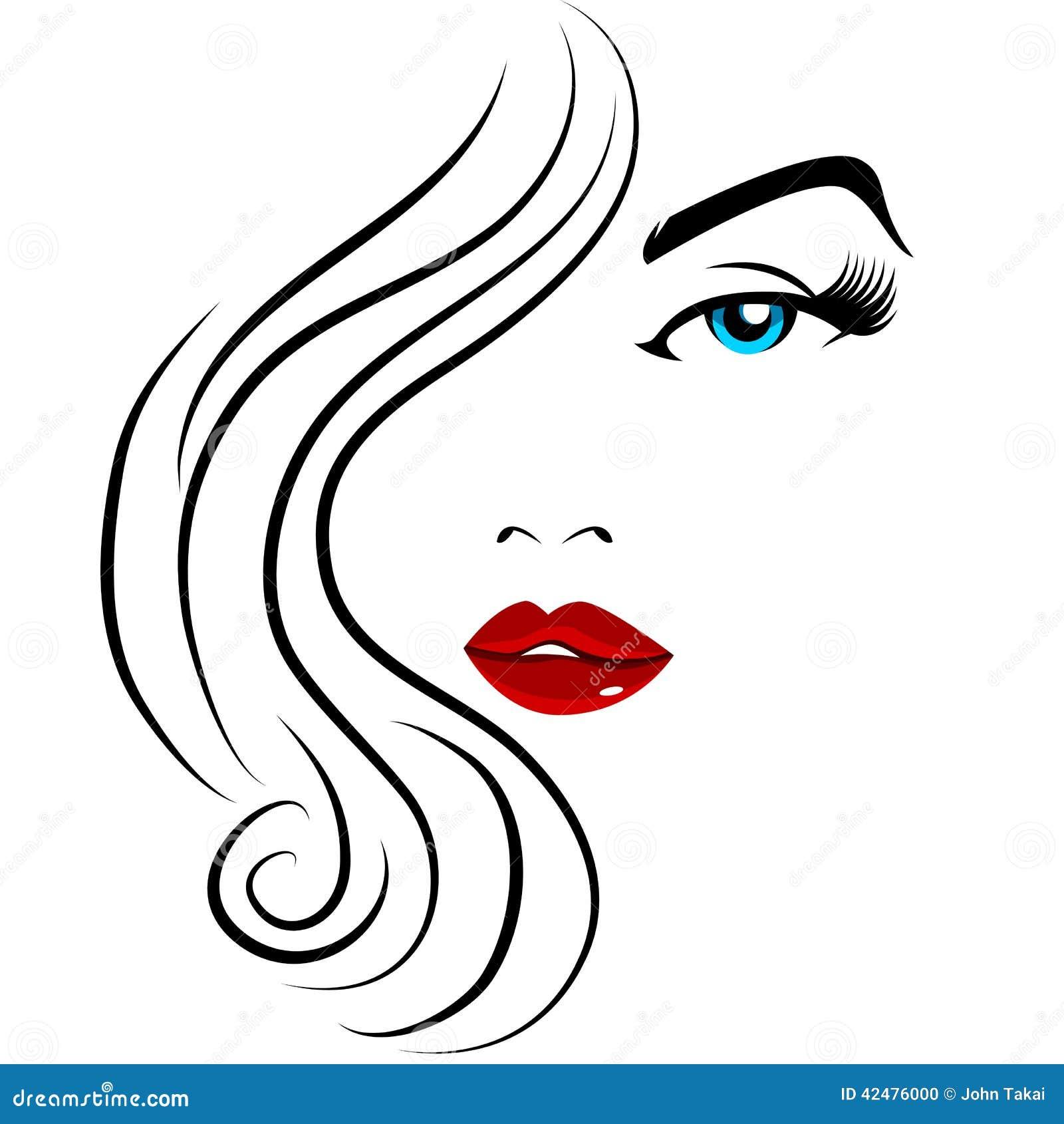 Muchacha bonita de la cara