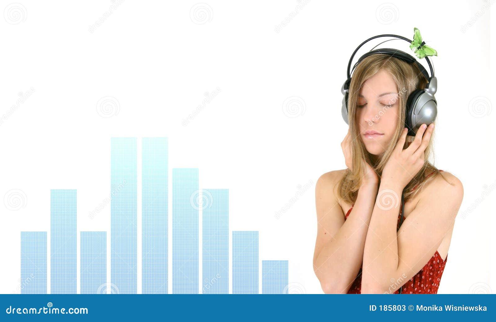 Muchacha de la música