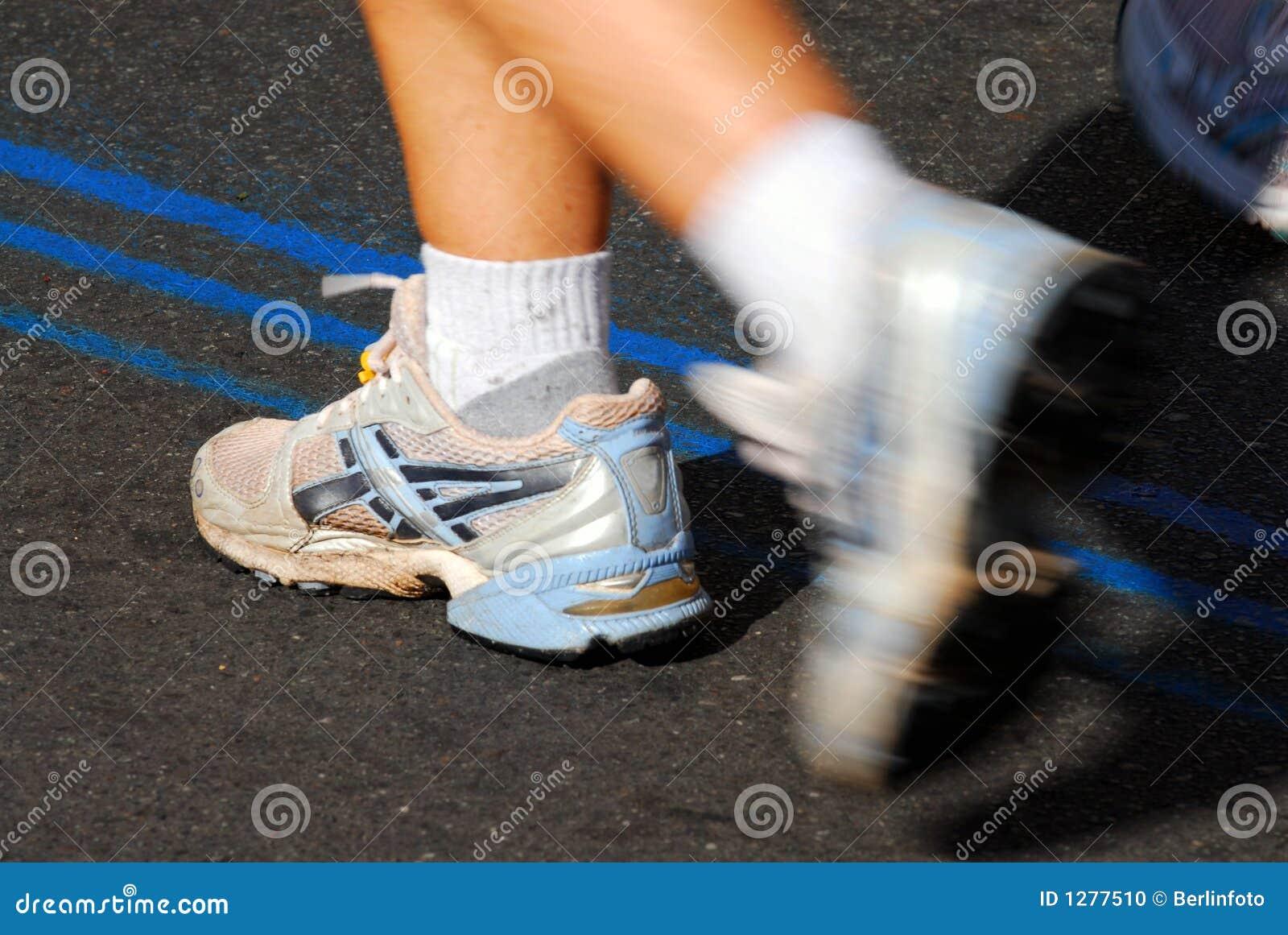 Muchacha del maratón