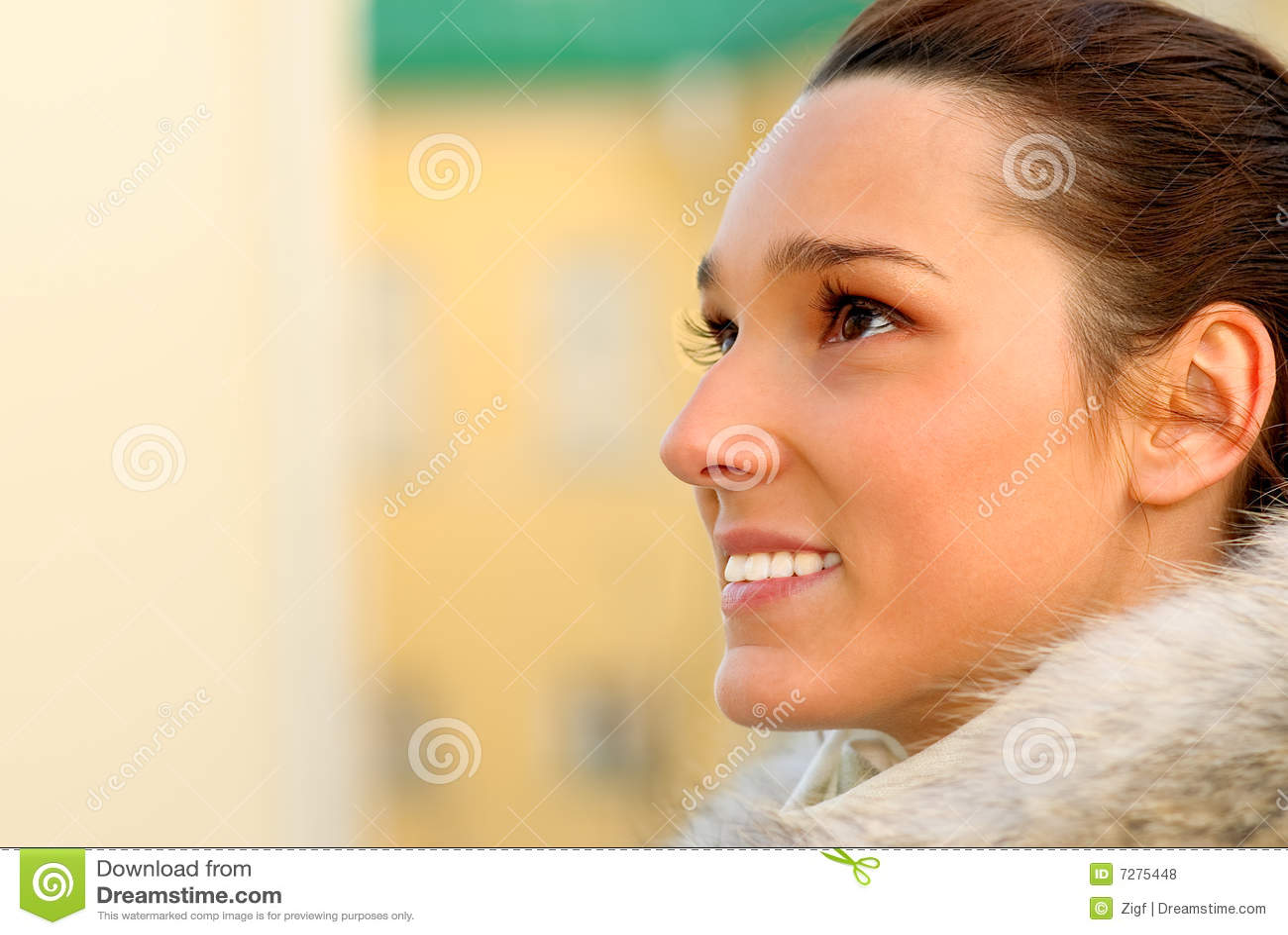 Muchacha hermosa de la cara