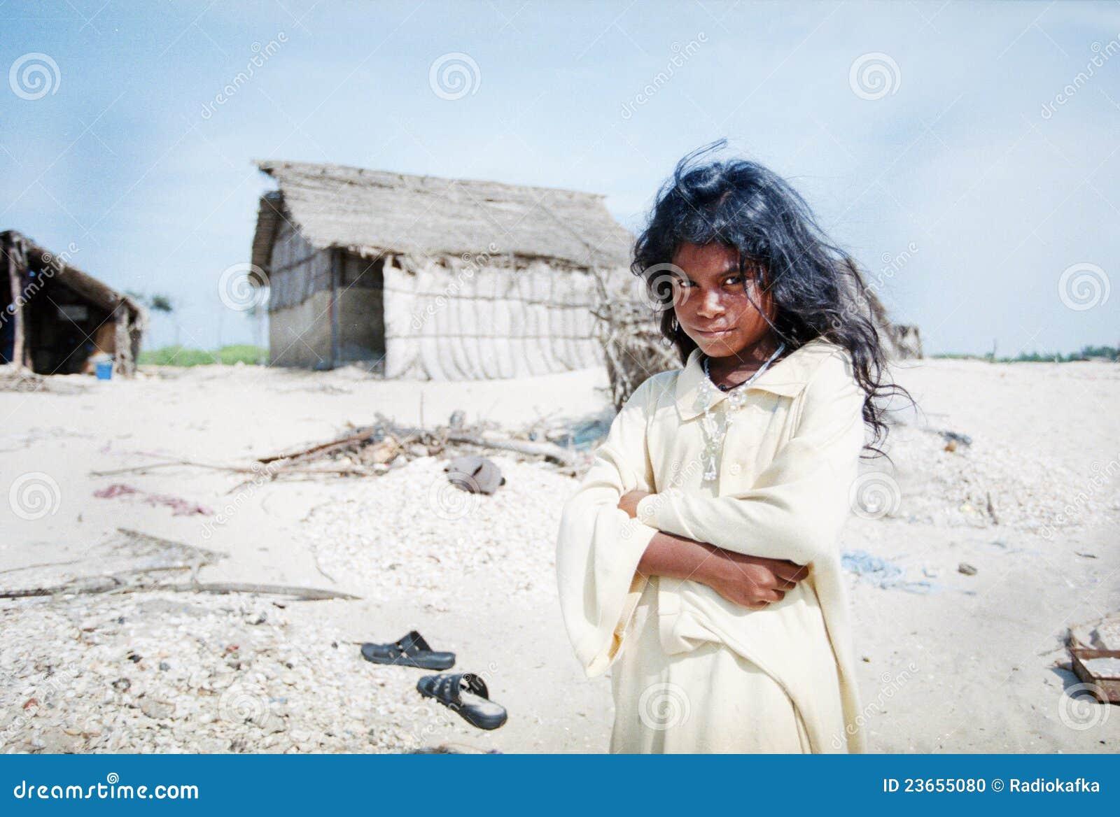 Muchacha india linda