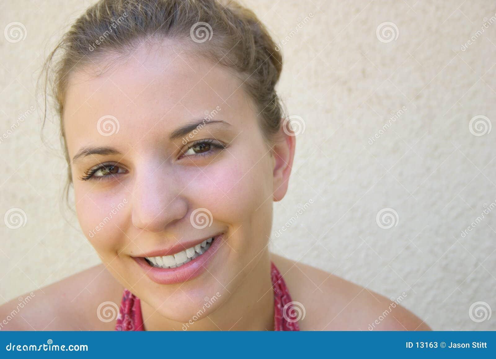 Muchacha sonriente