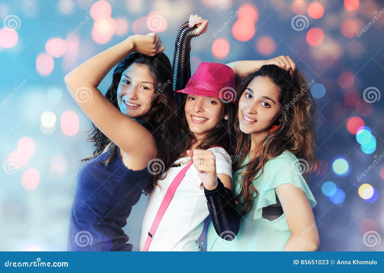 Muchachas Bonitas De Baile Imagen De Archivo Imagen De
