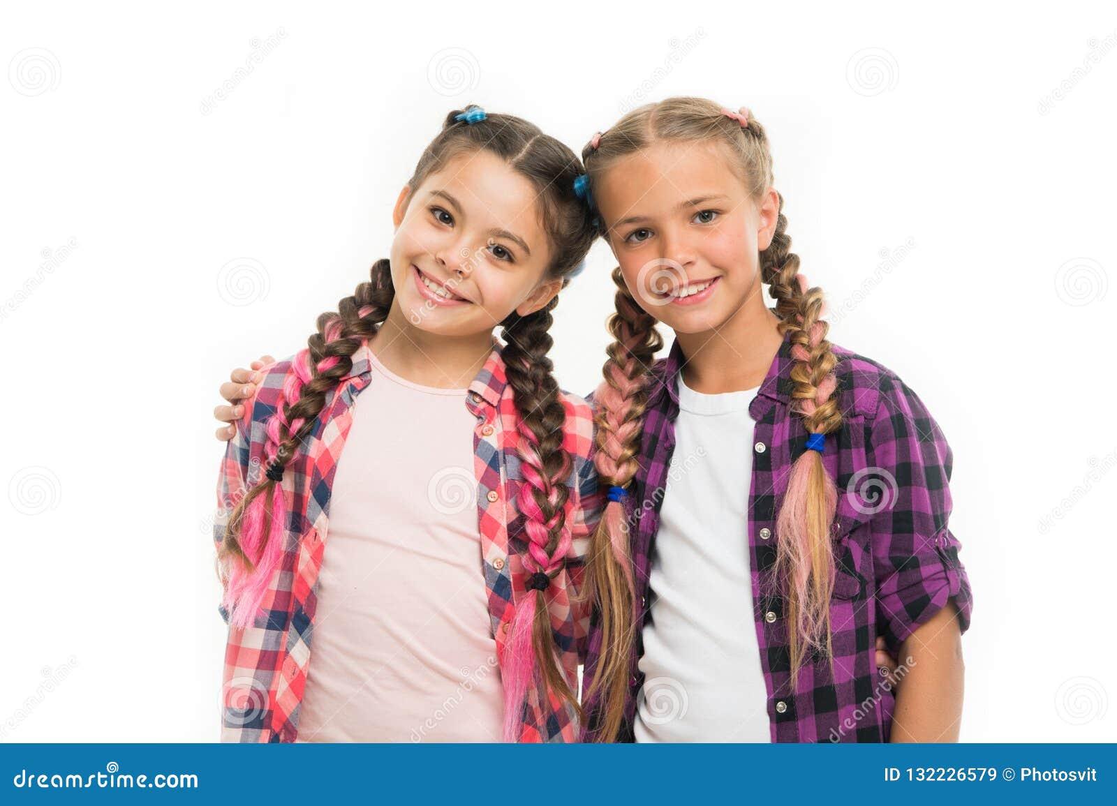 Muchachas De Moda Vestido Similar Con El Mejor Amigo Vestido