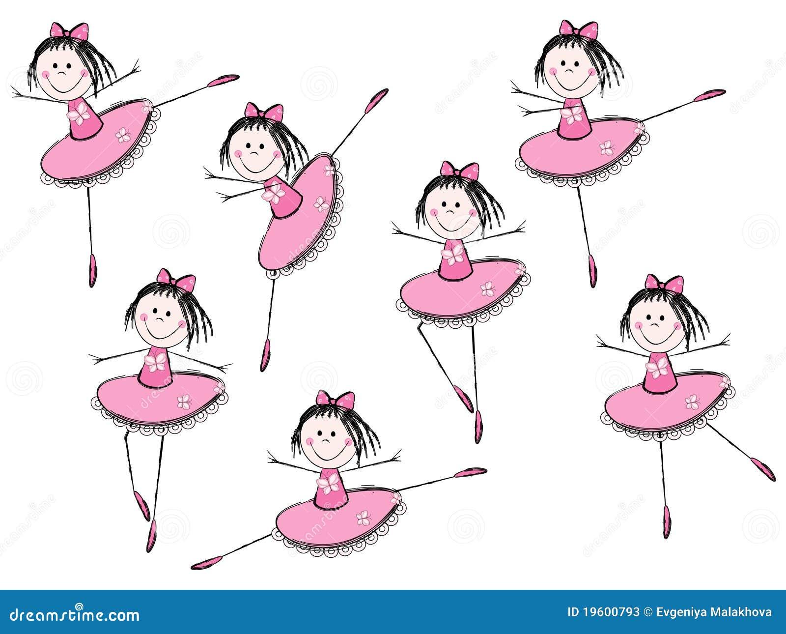 Muchachas del ballet