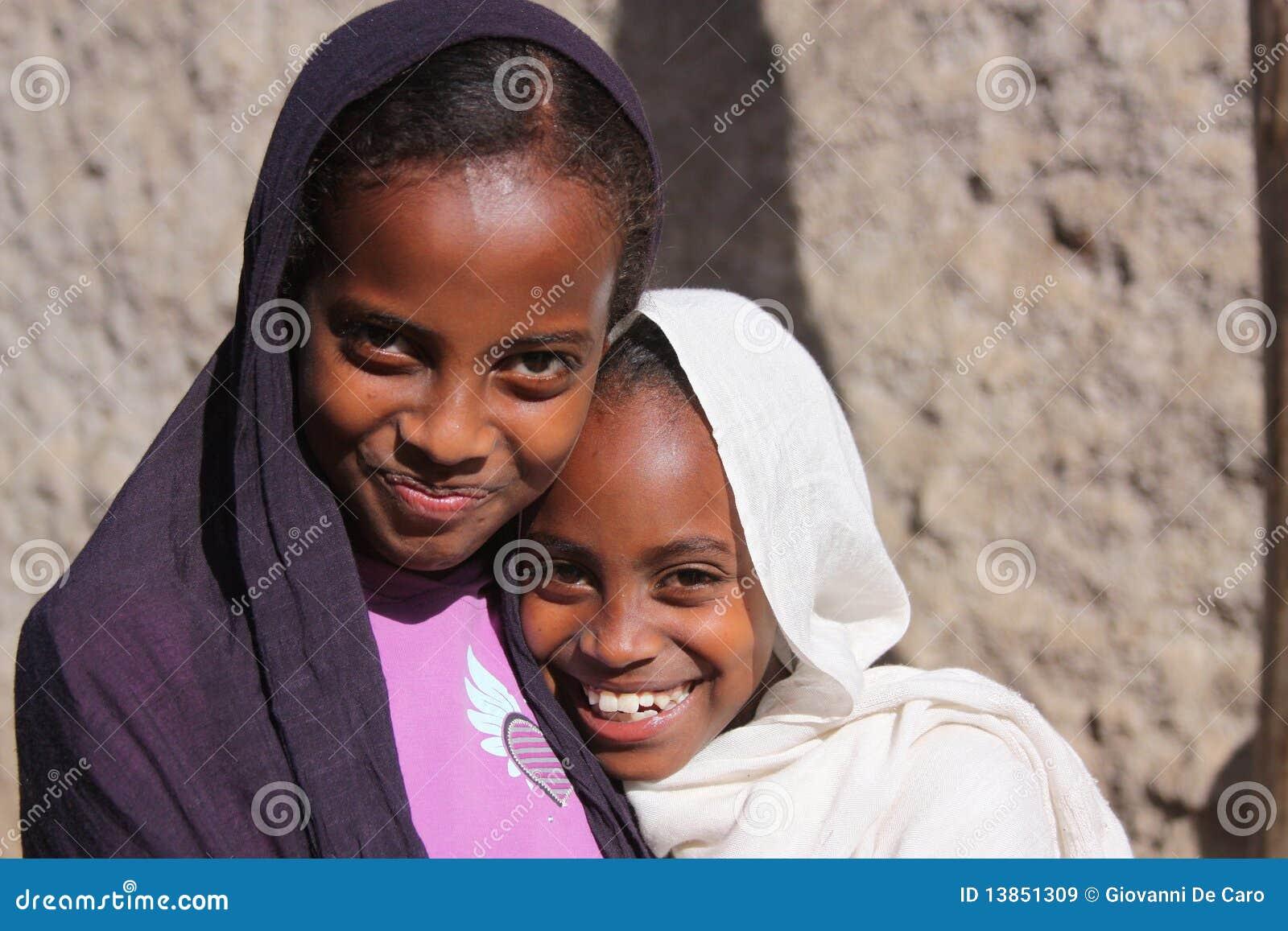 Muchachas en Etiopía