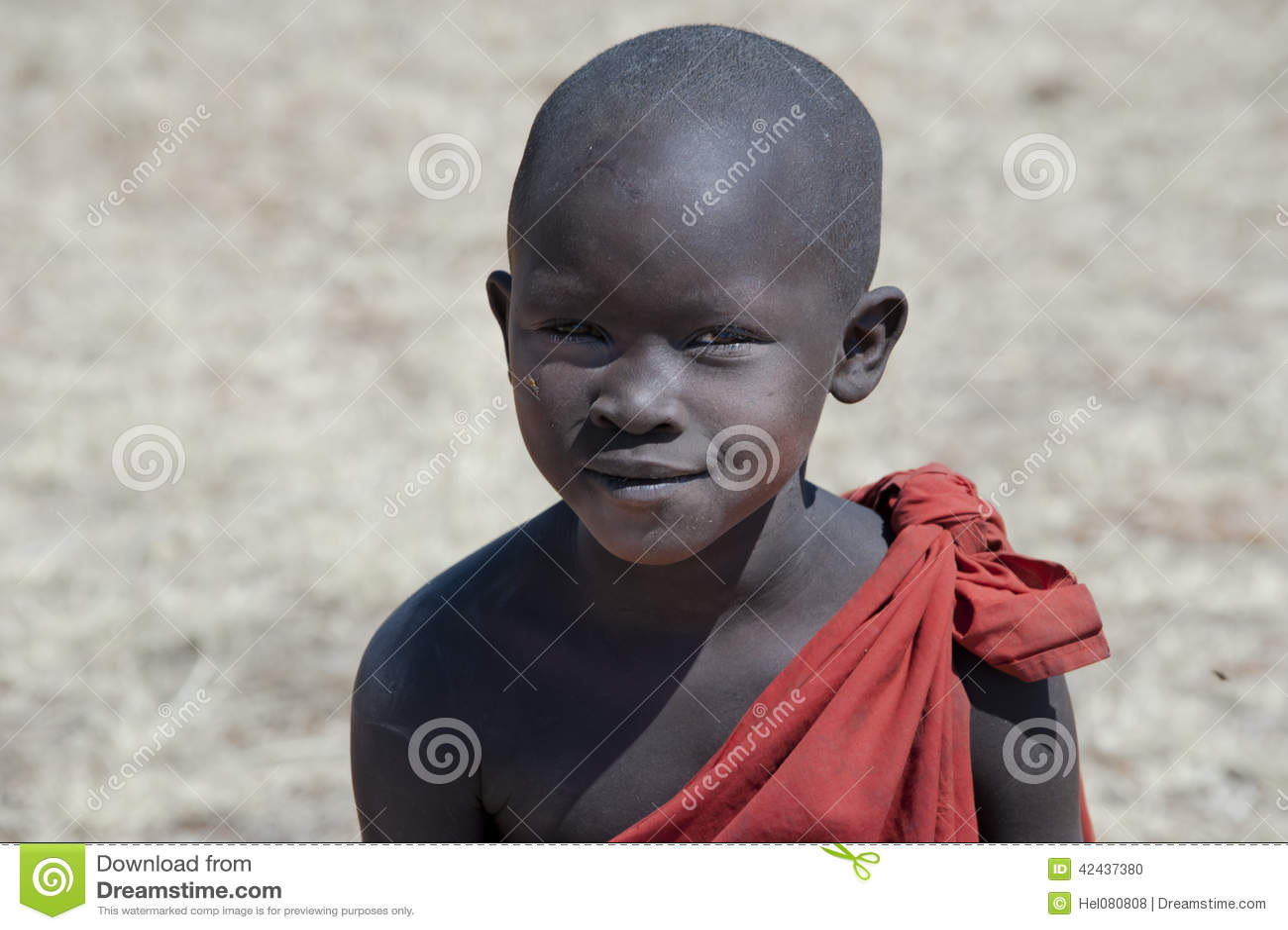 Muchacho del Masai