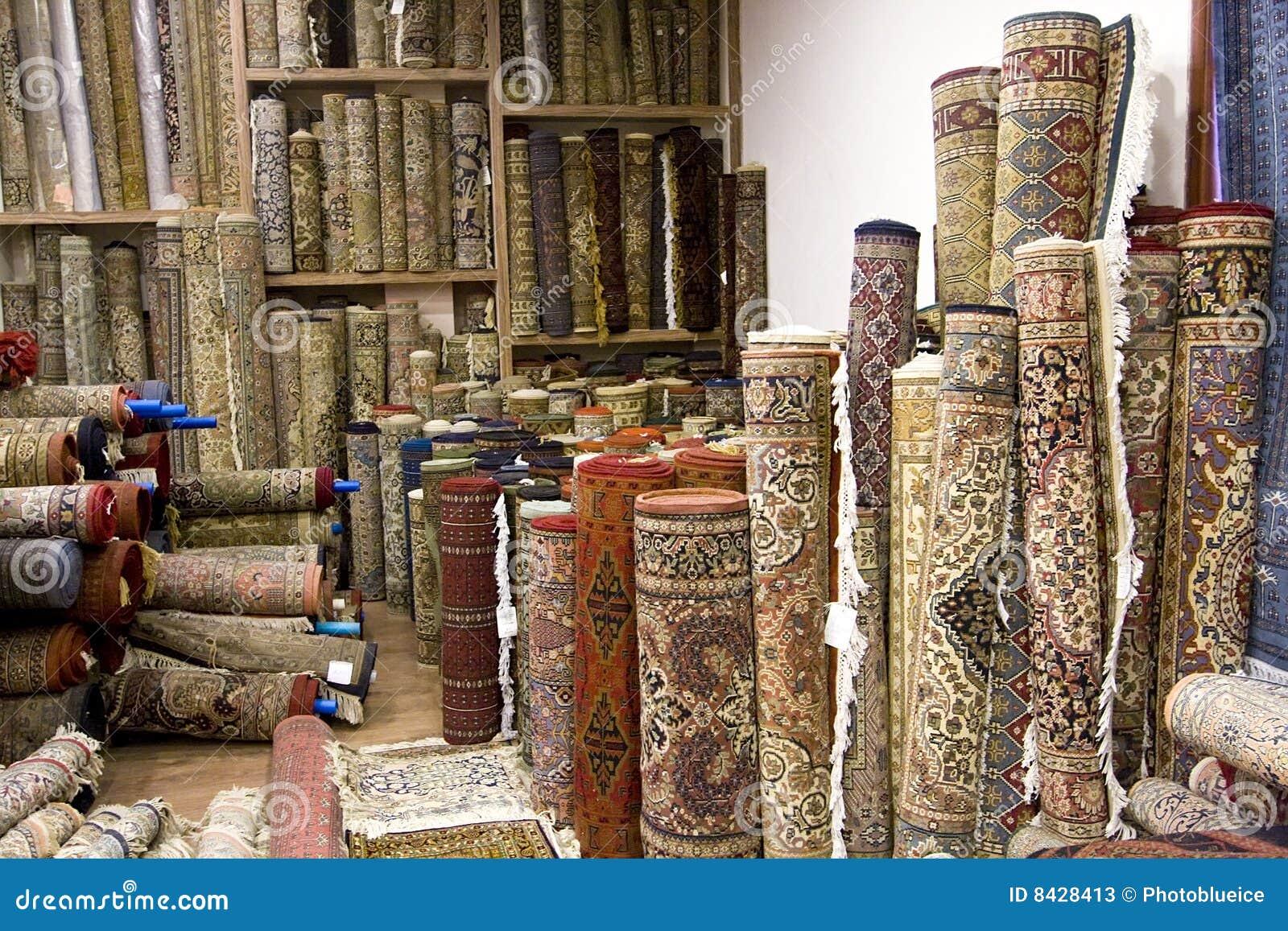 Muchas alfombras en la india fotos de archivo imagen for Alfombras indias