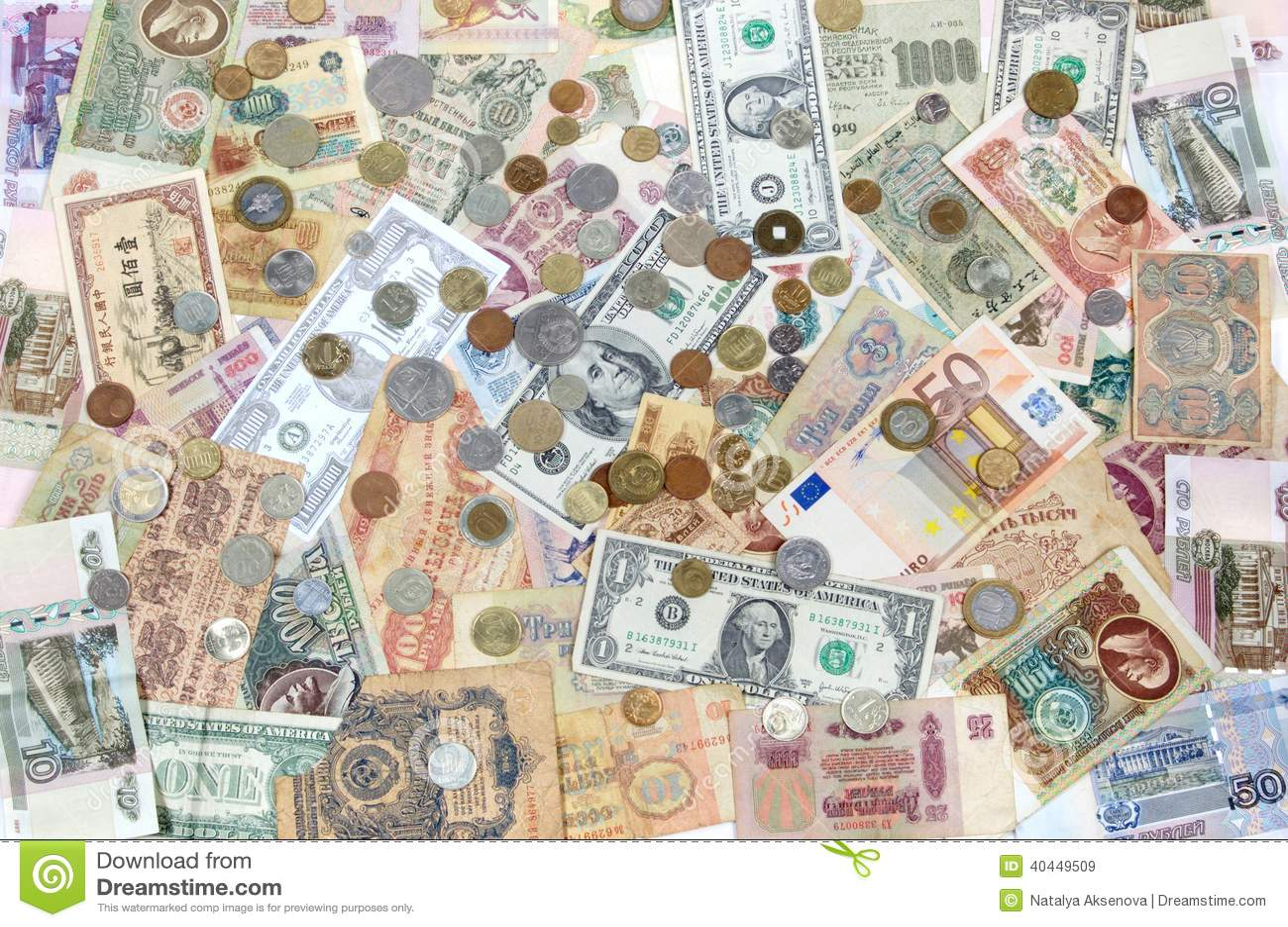 Zaster Geld