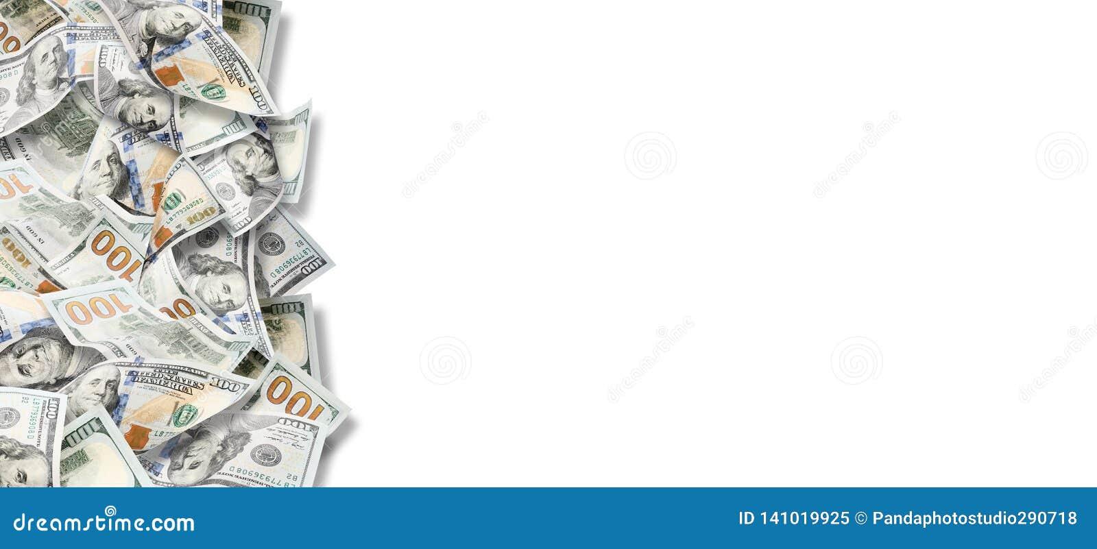 Muchos dólares Imagen altamente detallada del dinero americano
