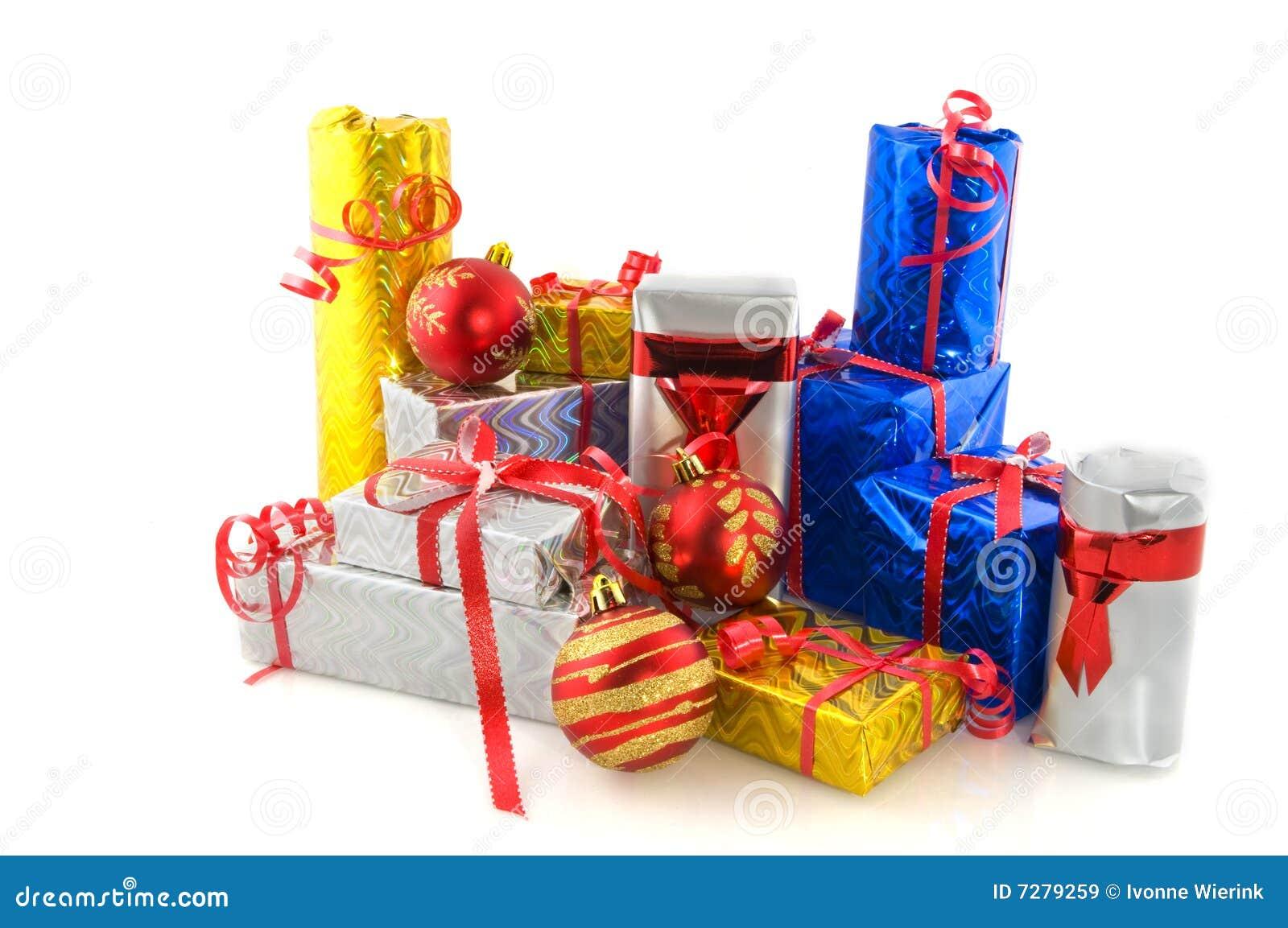 Muchos presentes para la Navidad