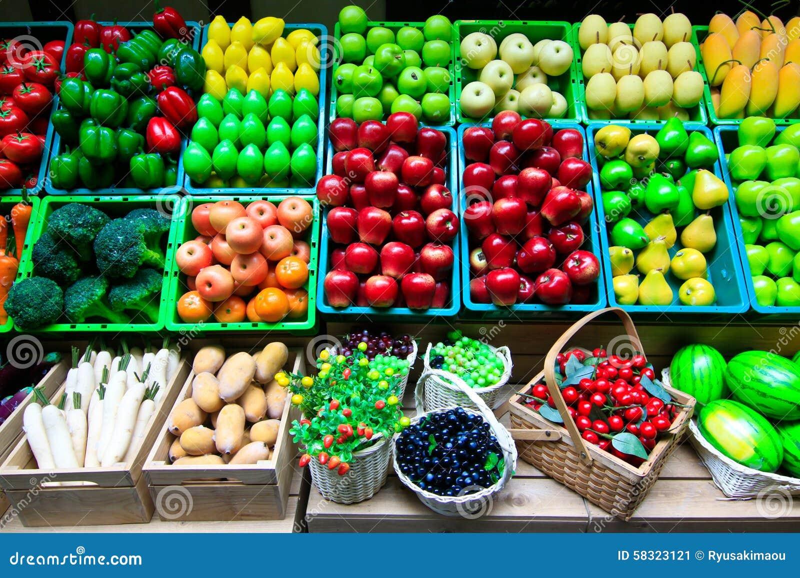 Muchos tipo de fruta