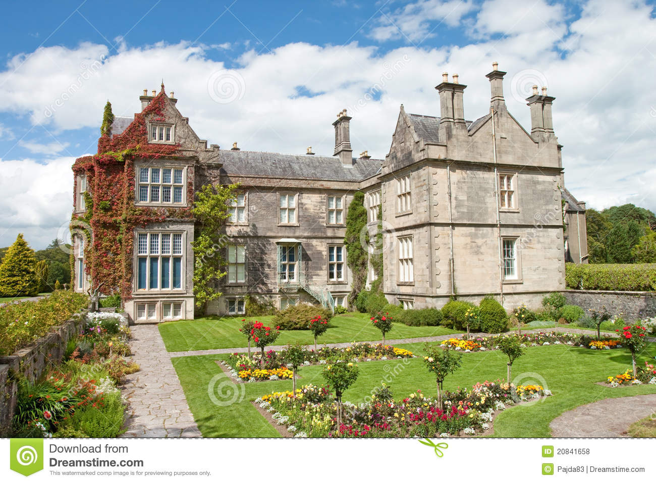 Muckross house and gardens killarney in ireland royalty - Free garden plans ireland ...