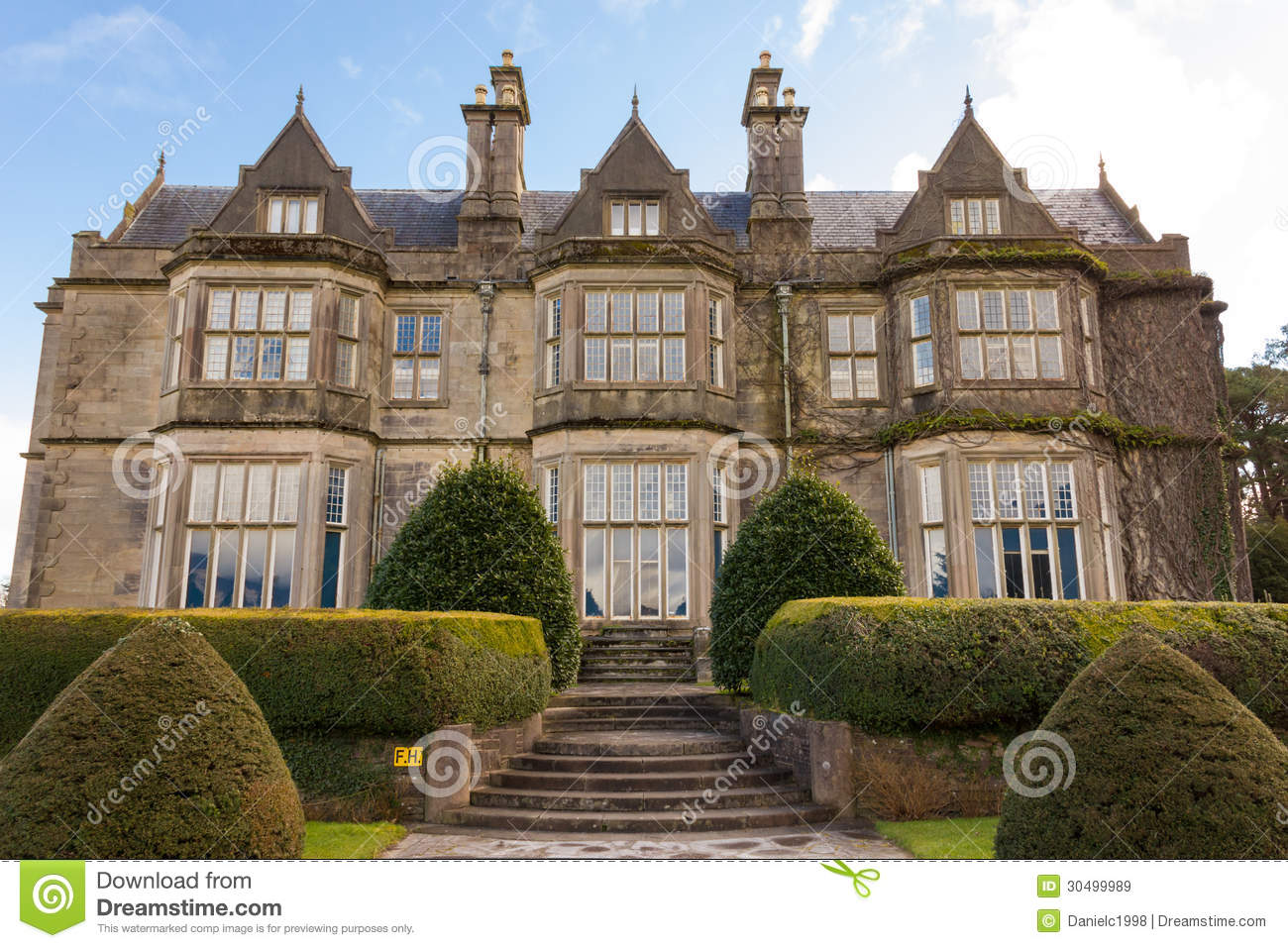 Muckross House And Gardens. Killarney. Ireland Stock Image