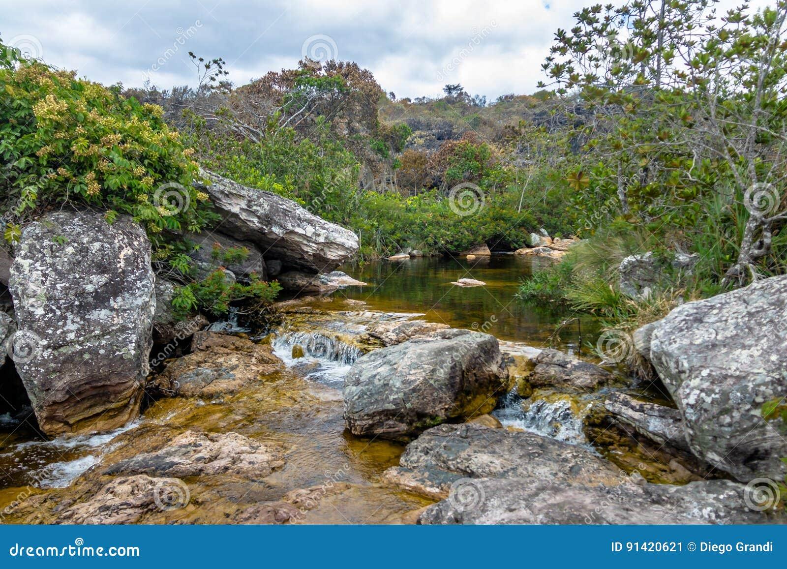 Mucugezinho River in Chapada Diamantina - Bahia, Brazil