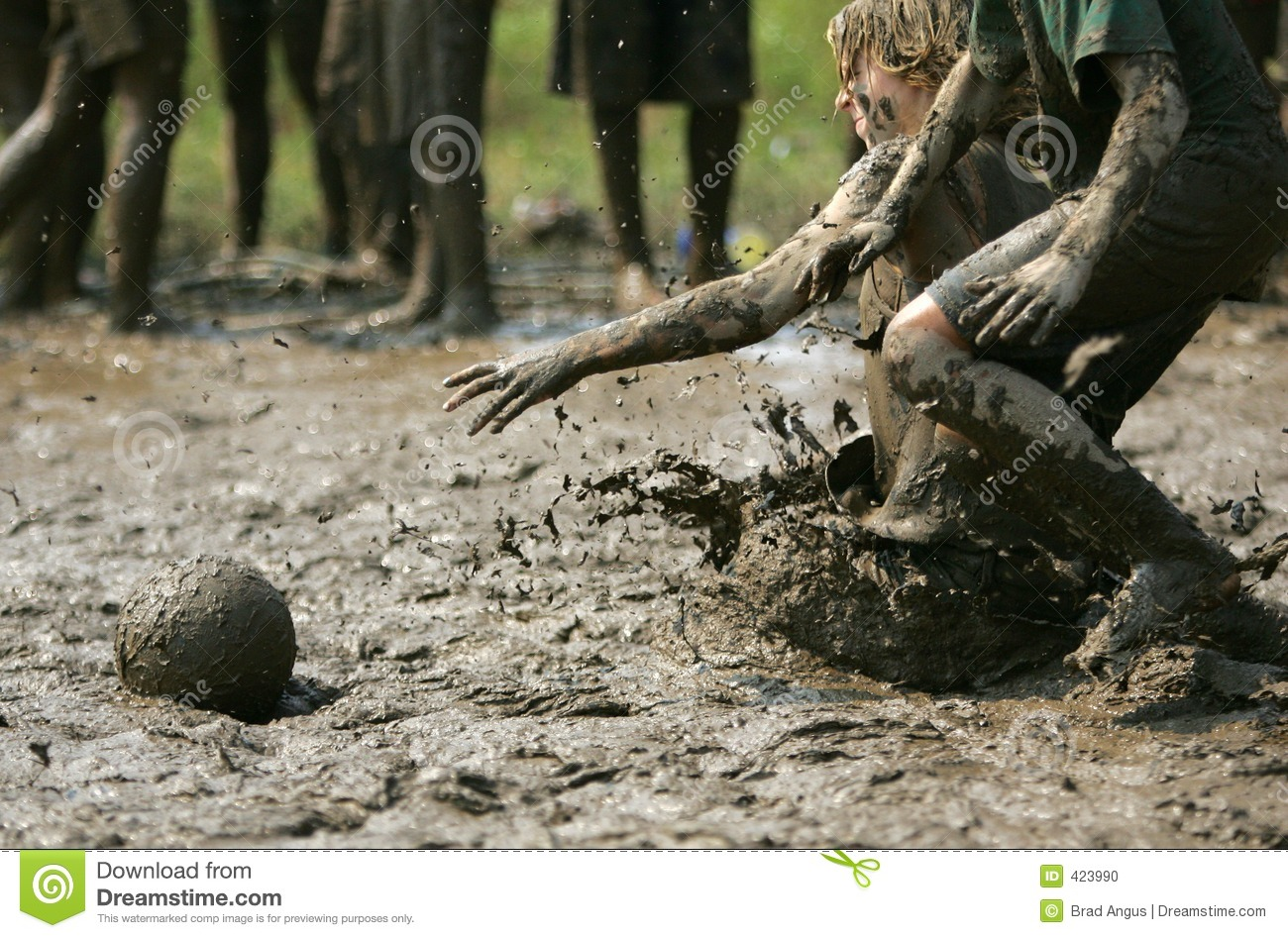 Mud Bowl 2 Stock Photo Image Of Action Muddy