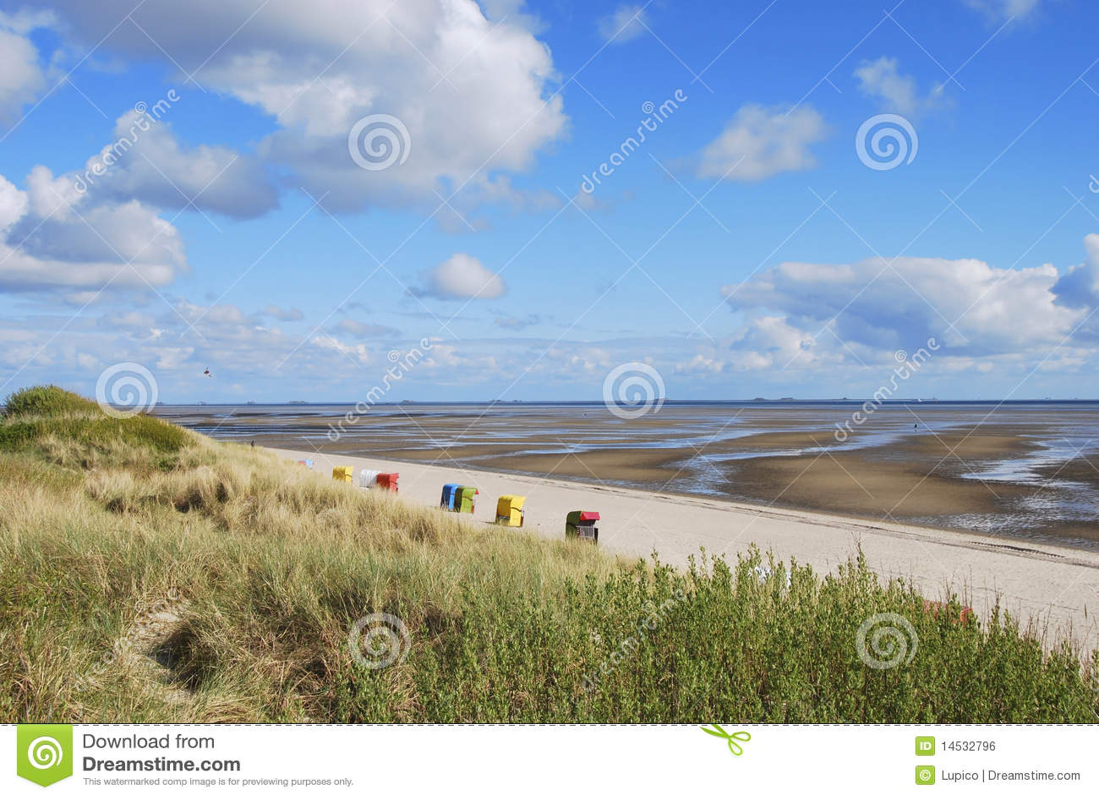 Mud Flats and Beach