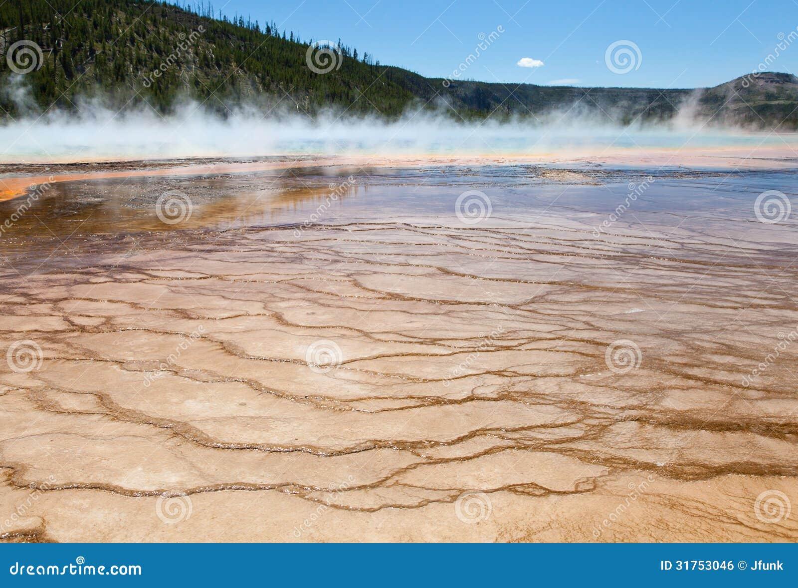 Mud Flats, Yellowstone