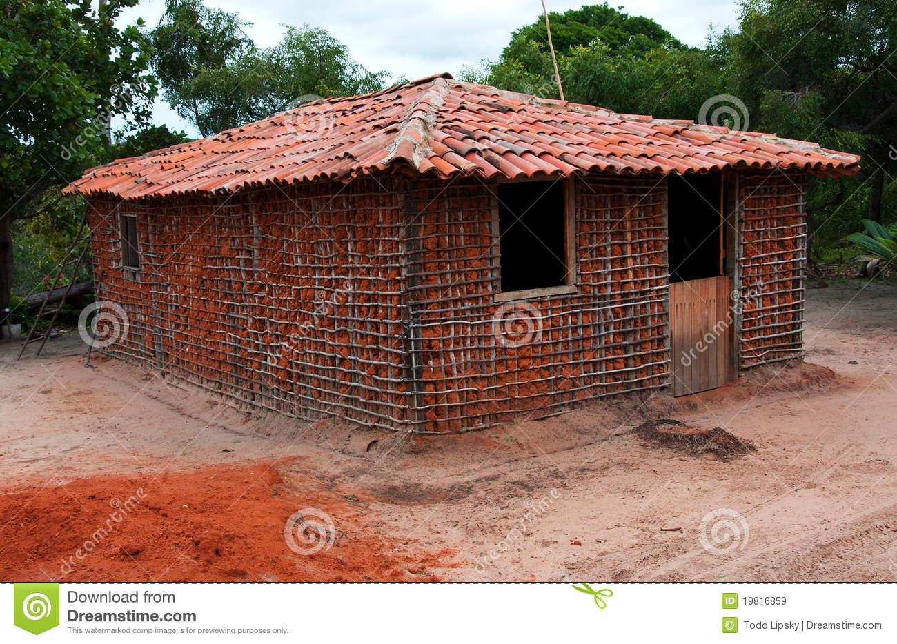 Mud House Royalty Free Stock Images Image 19816859