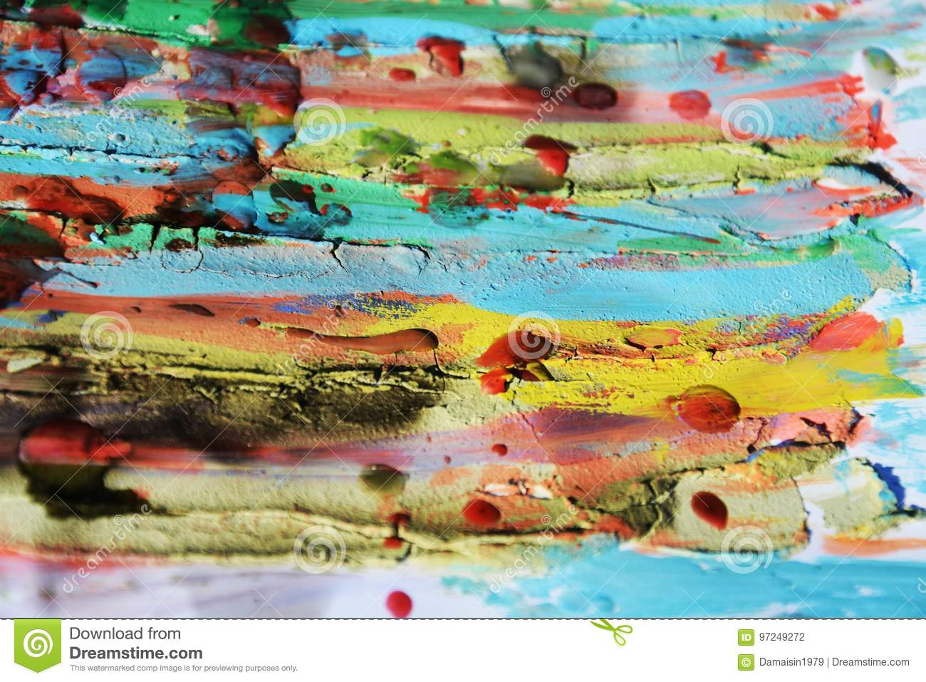 Mud, paint, watercolor hues, abstract background