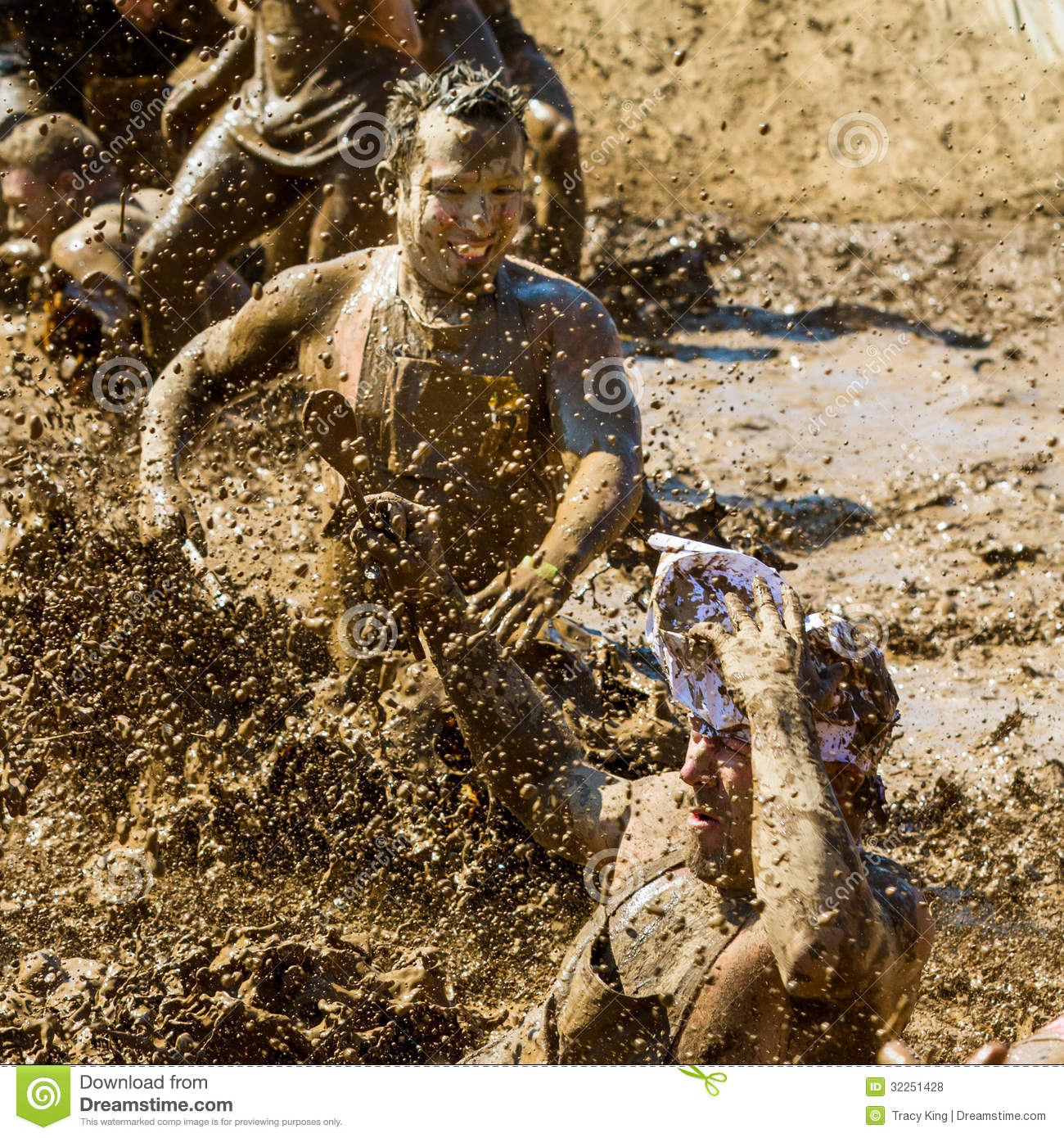 Mud Puddles Editorial Stock Photo Image 32251428