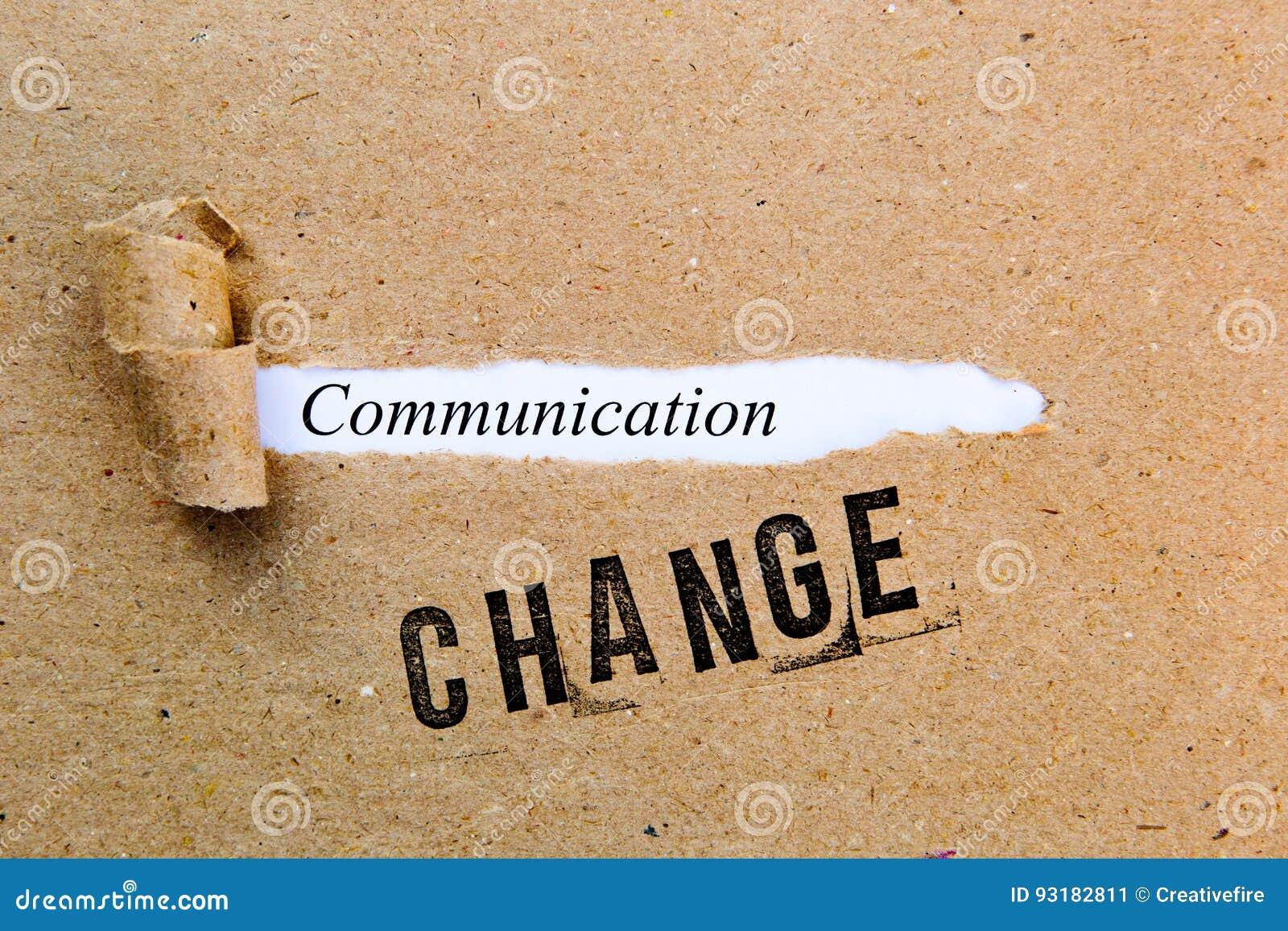 Mudança - uma comunicação - estratégias bem sucedidas para a mudança
