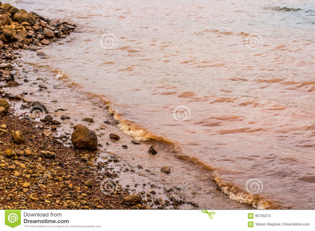 Muddy Water Waves von Panshet